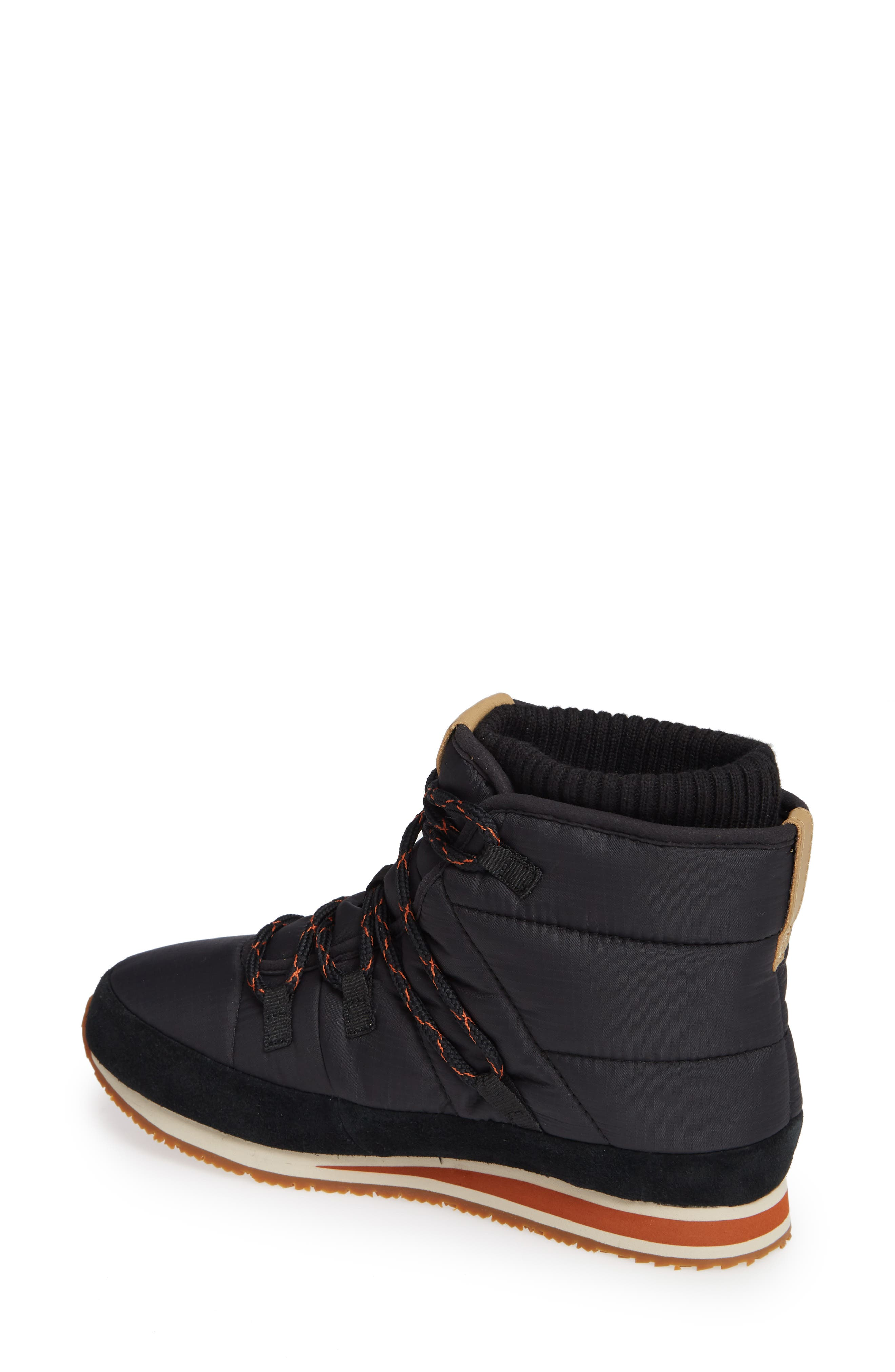 TEVA,                             Ember Lace-Up Winter Bootie,                             Alternate thumbnail 2, color,                             BLACK FABRIC