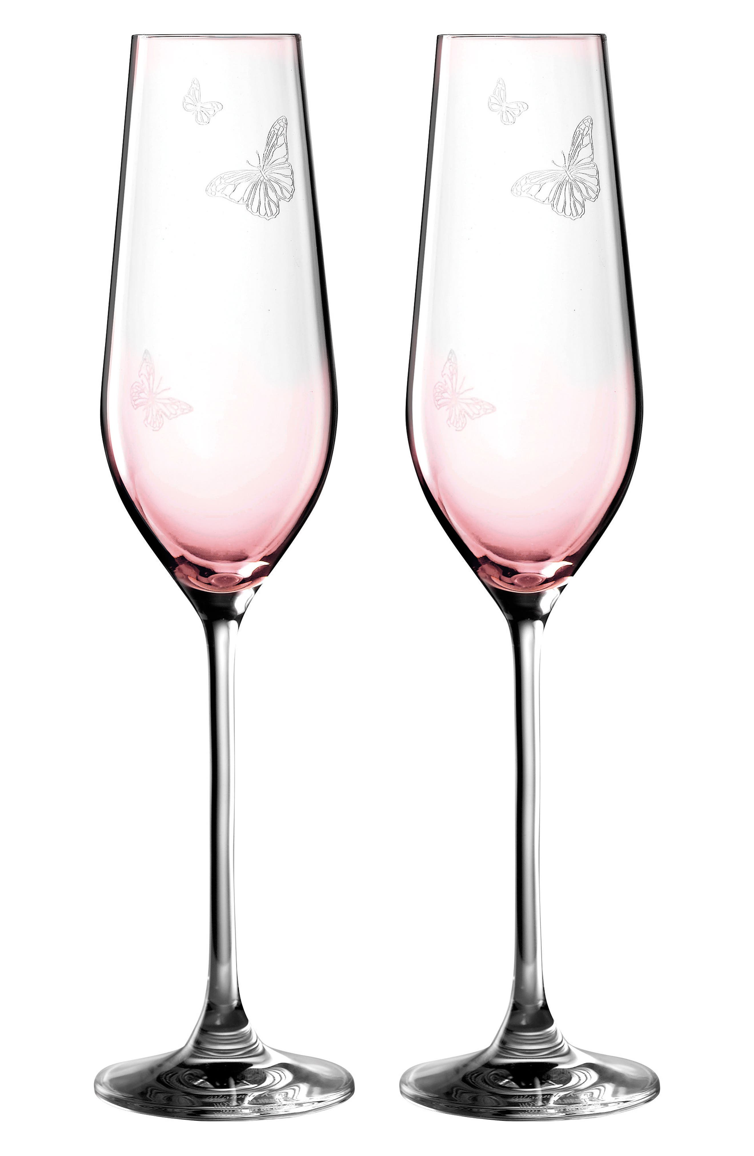 Friendship Set of 2 Champagne Flutes,                         Main,                         color, 650
