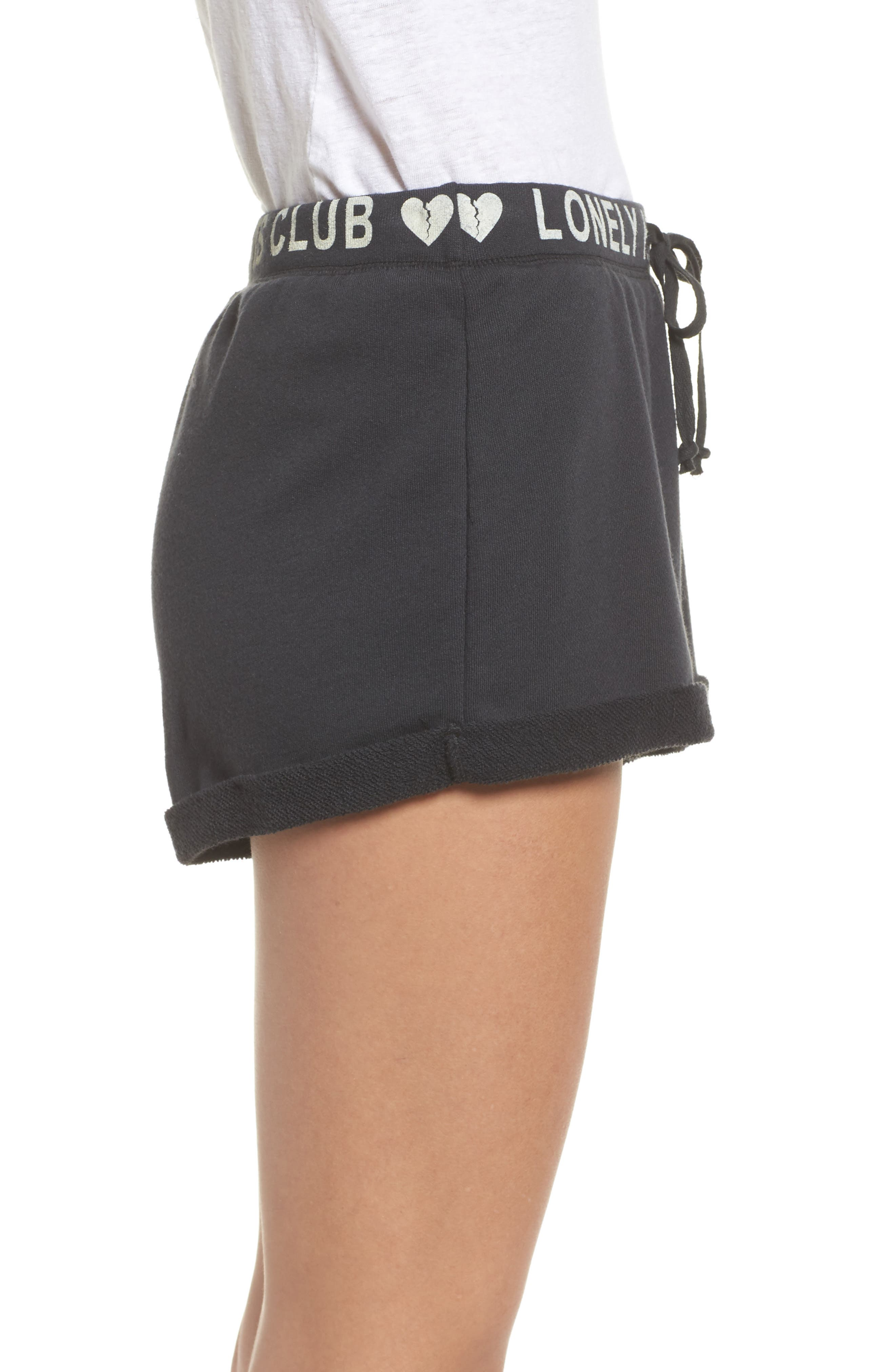 Lonely Hearts Club Lounge Shorts,                             Alternate thumbnail 3, color,