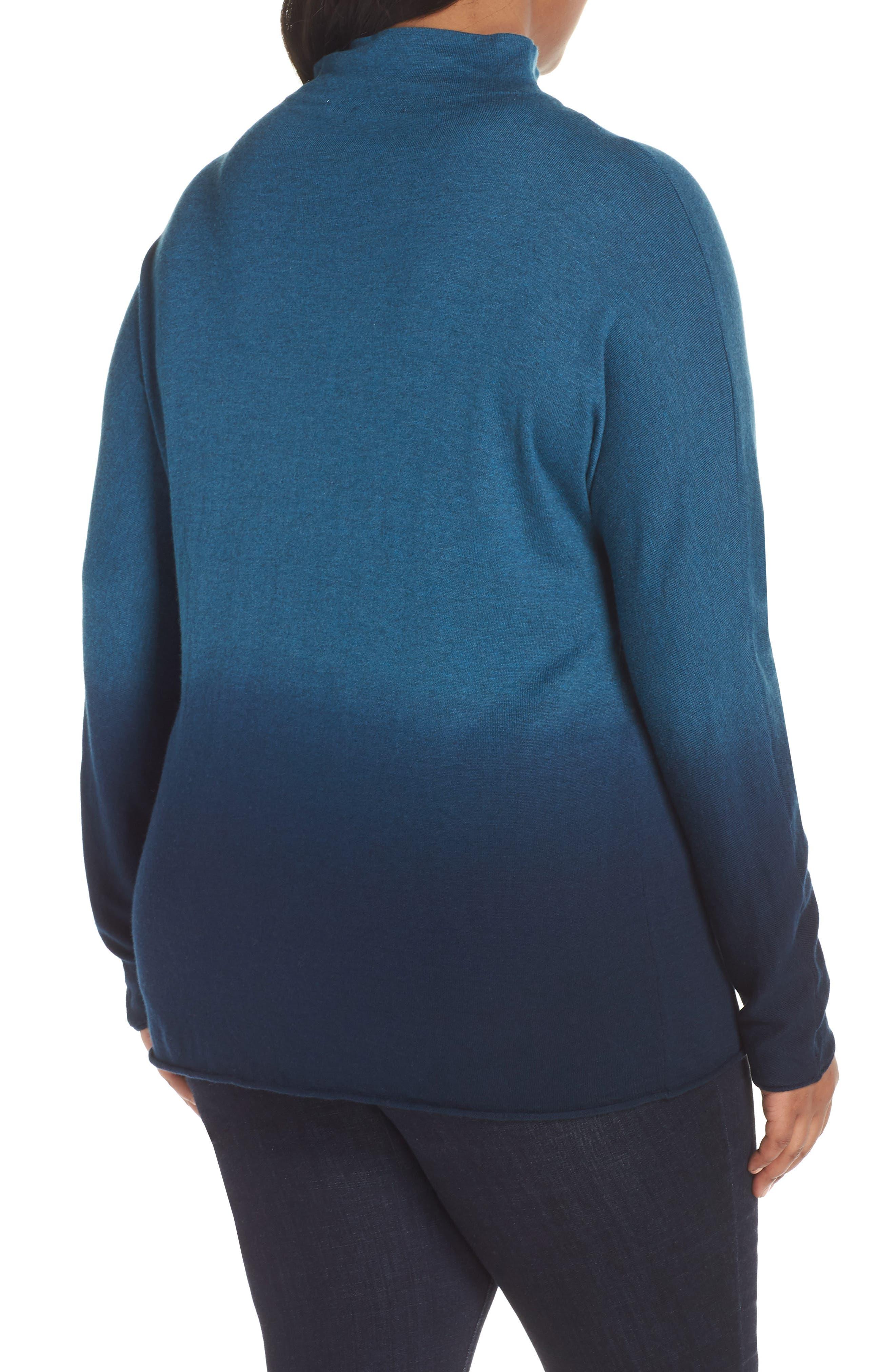 Traveler Funnel Neck Sweater,                             Alternate thumbnail 2, color,                             BERYL