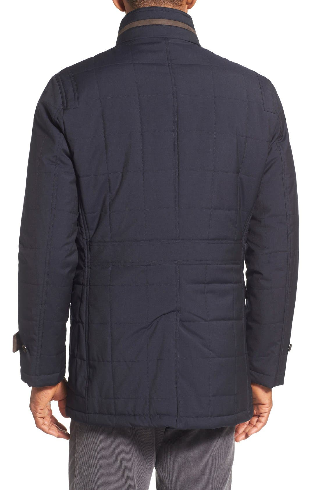 Quilted Wool Parka,                             Alternate thumbnail 2, color,                             410