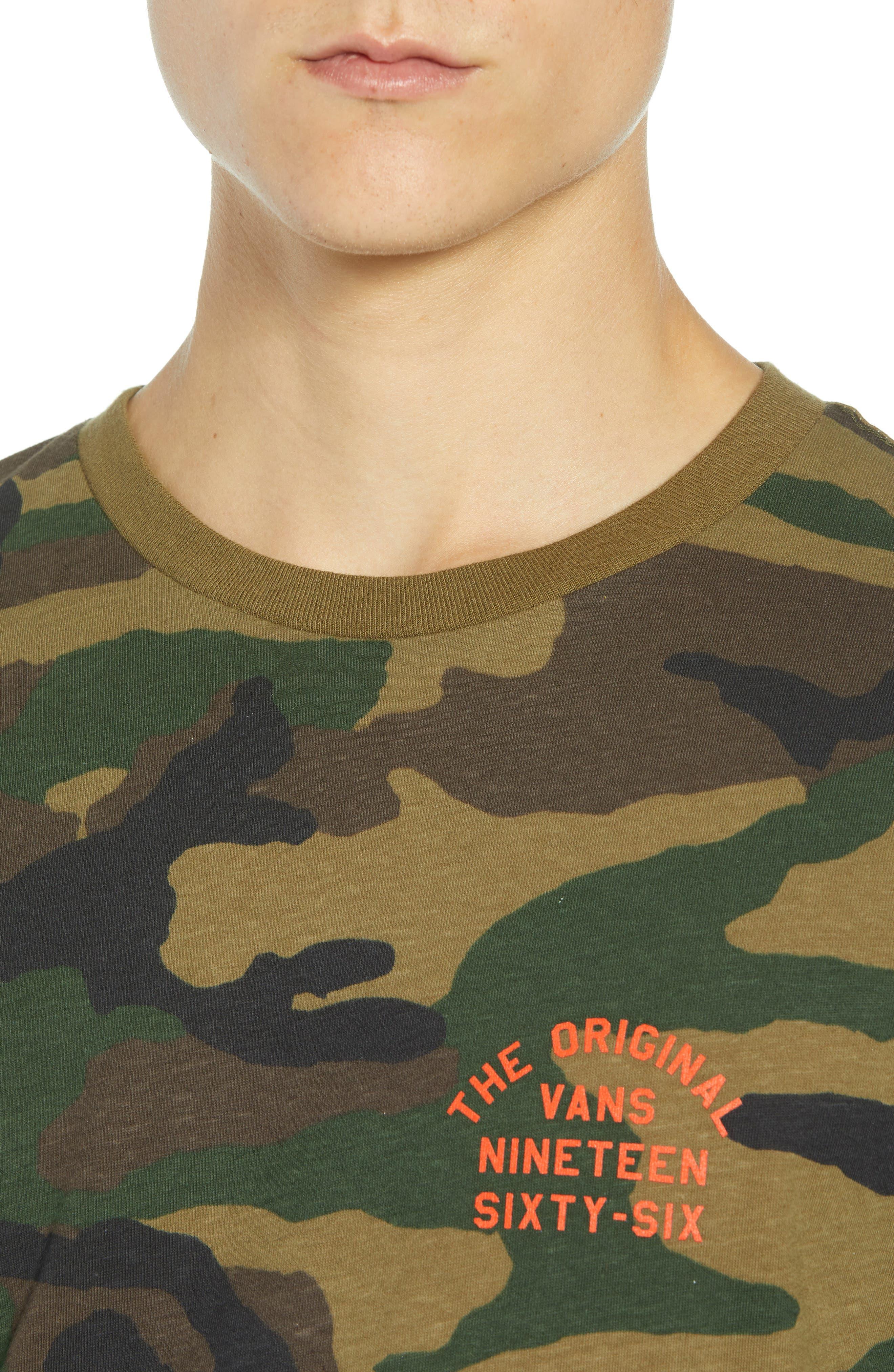 VANS,                             Spring Training T-Shirt,                             Alternate thumbnail 4, color,                             300