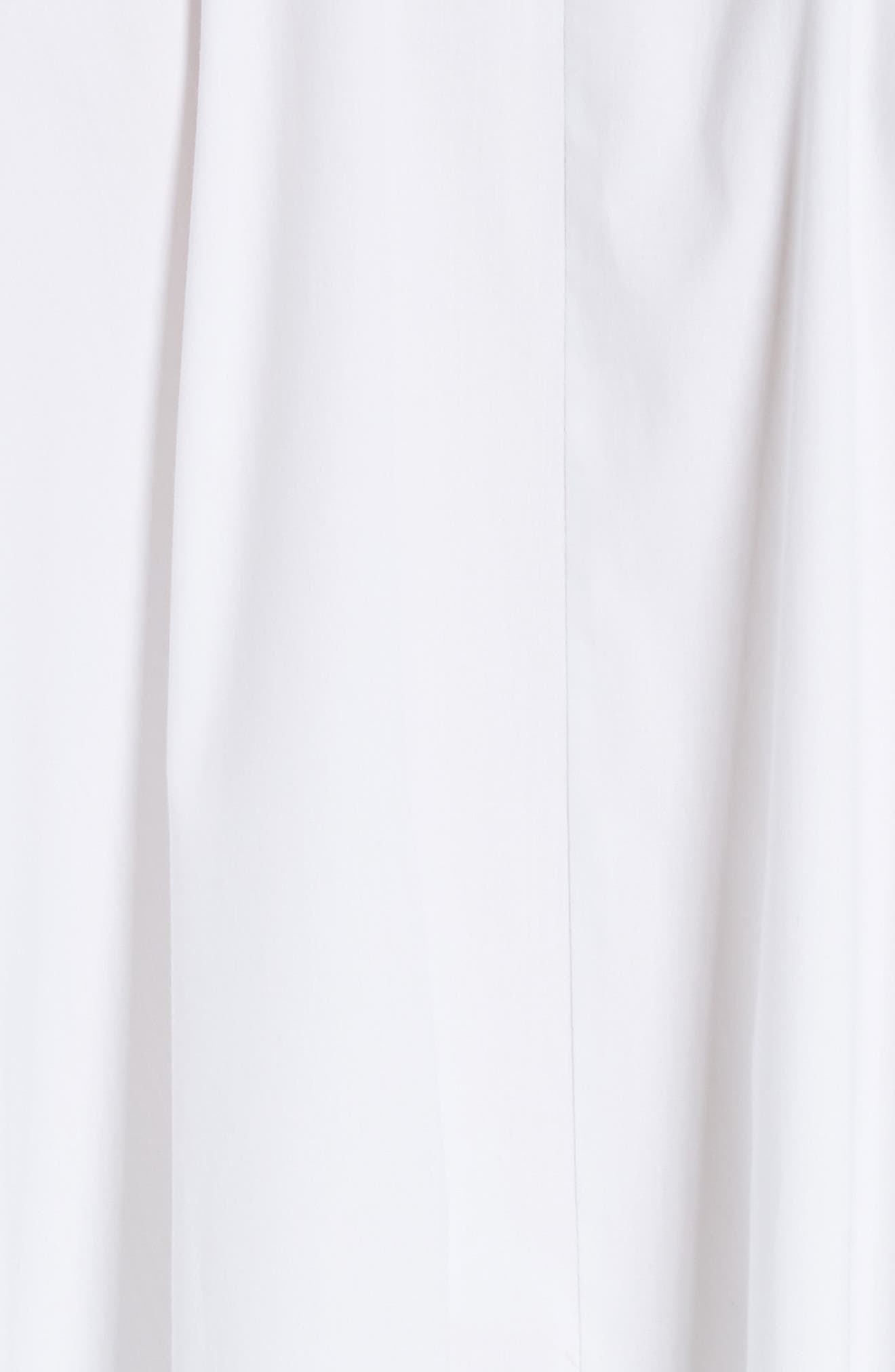 Long Super Shirt,                             Alternate thumbnail 6, color,                             WHITE