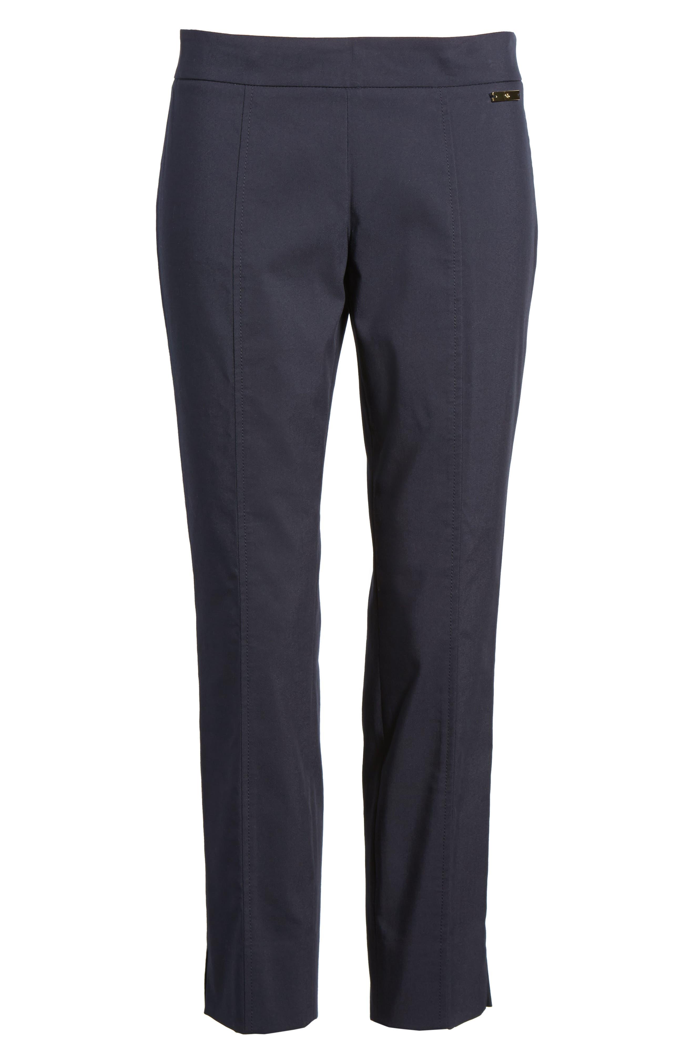 'Callie' Seamed Crop Pants,                         Main,                         color, 411