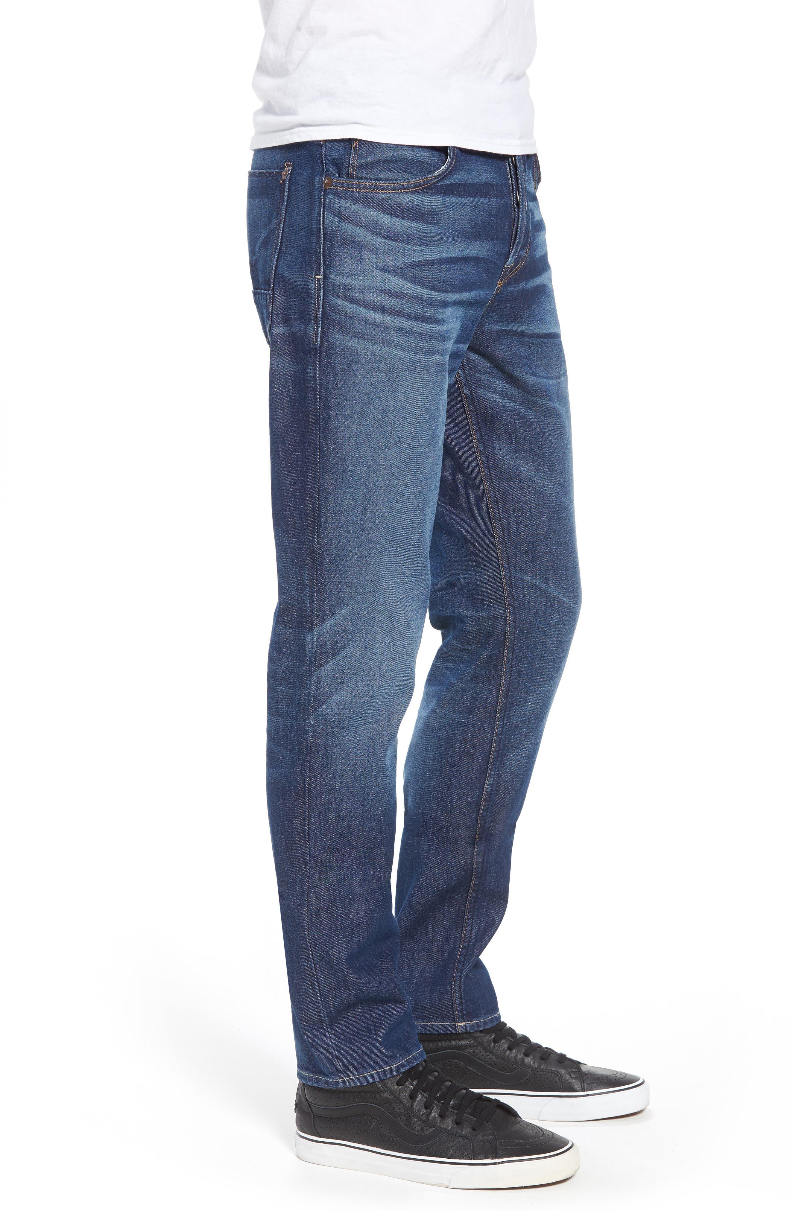 Axl Skinny Fit Jeans,                             Alternate thumbnail 3, color,                             425