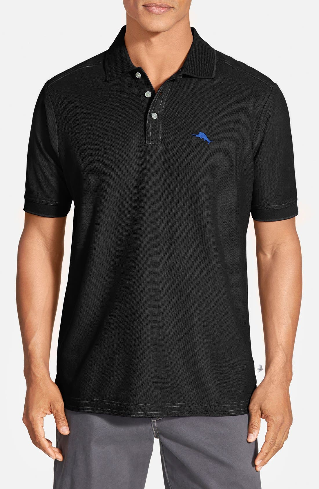 'The Emfielder' Original Fit Piqué Polo,                         Main,                         color,