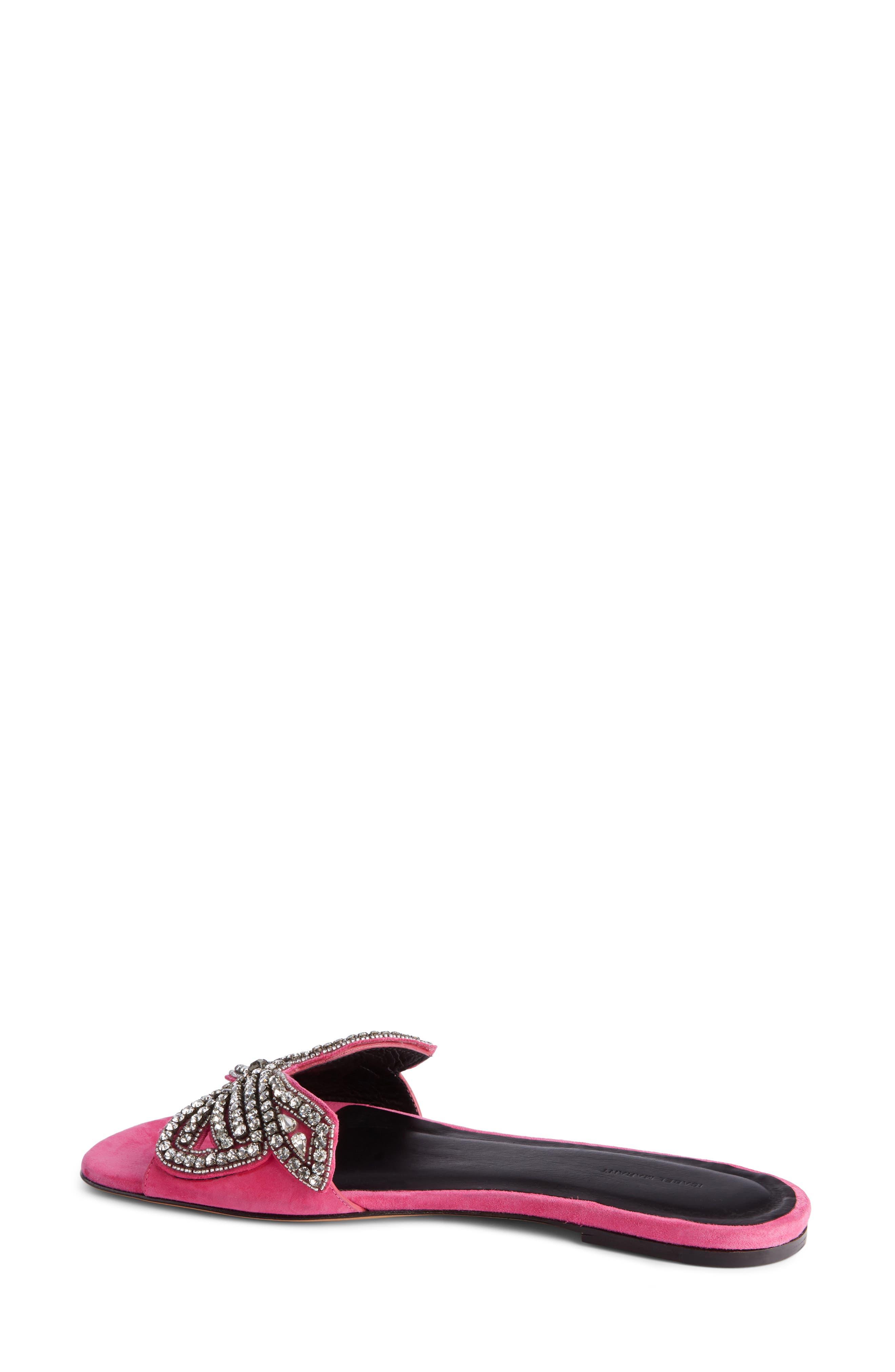 Jelson Crystal Bow Slide Sandal,                             Alternate thumbnail 2, color,                             650