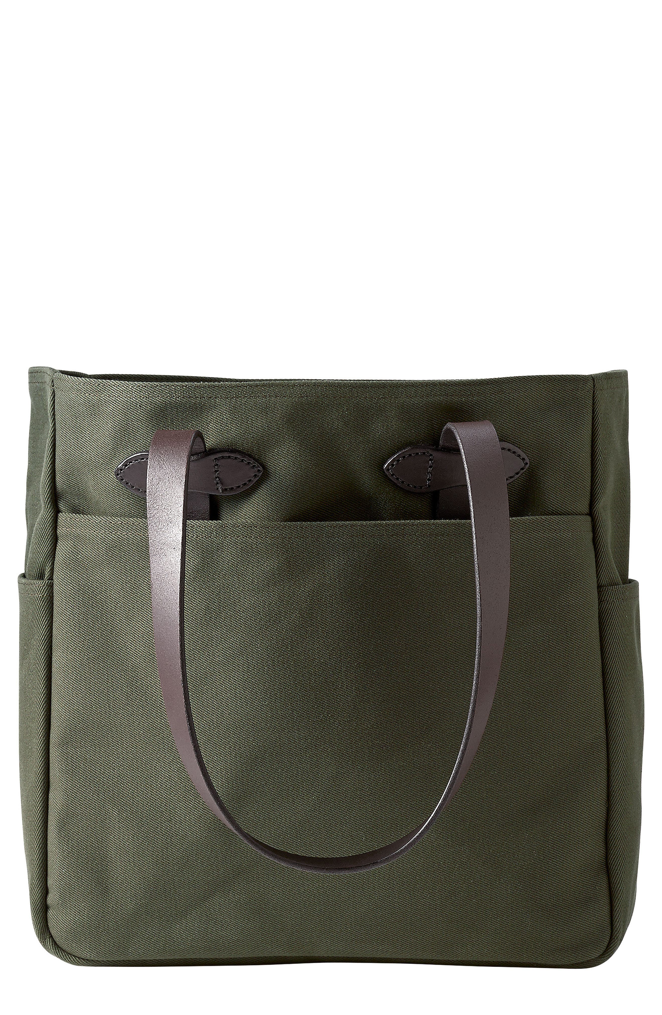 Rugged Twill Tote Bag,                         Main,                         color, OTTER GREEN
