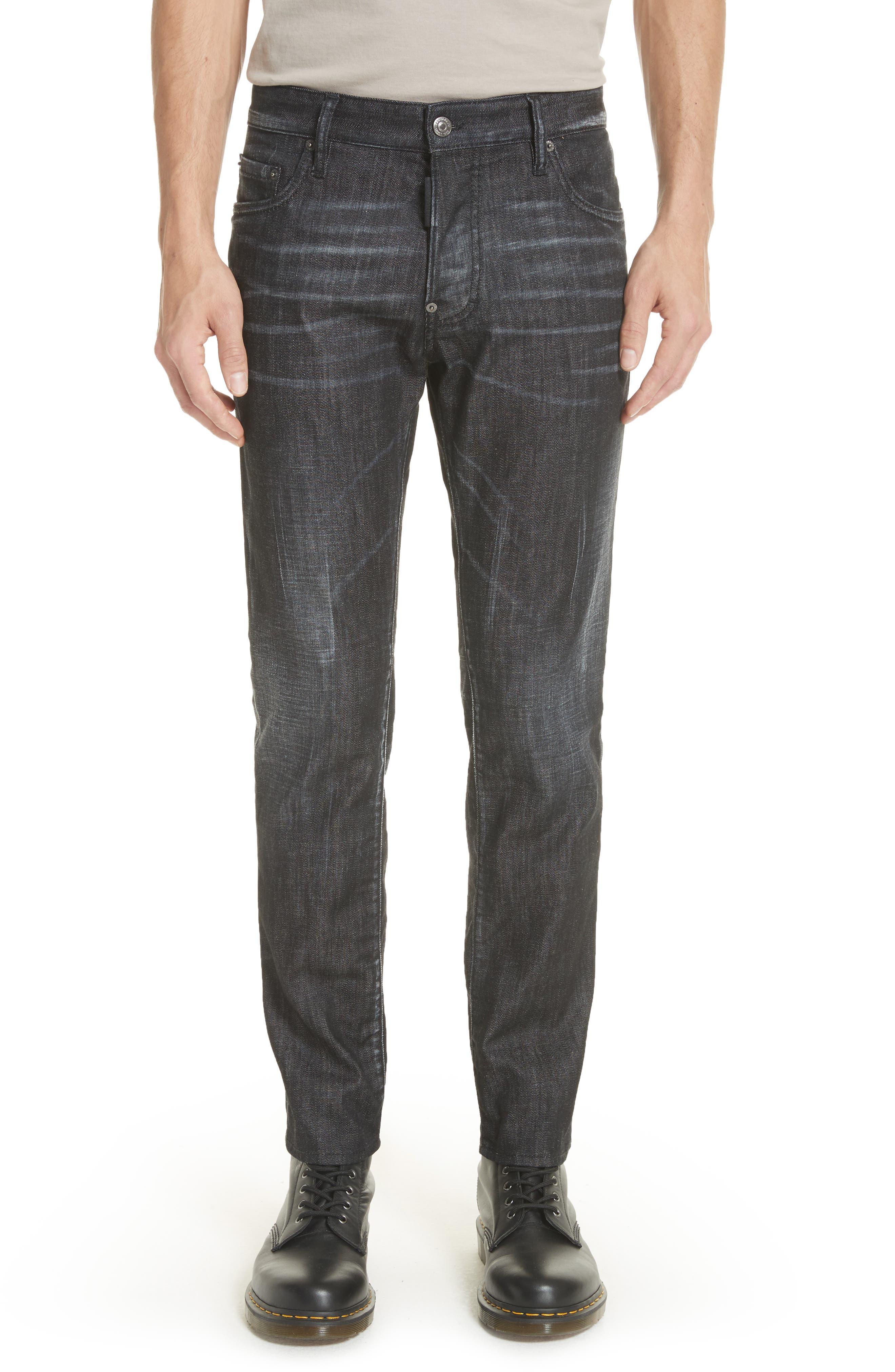 Blue Simplice City Biker Jeans,                         Main,                         color,