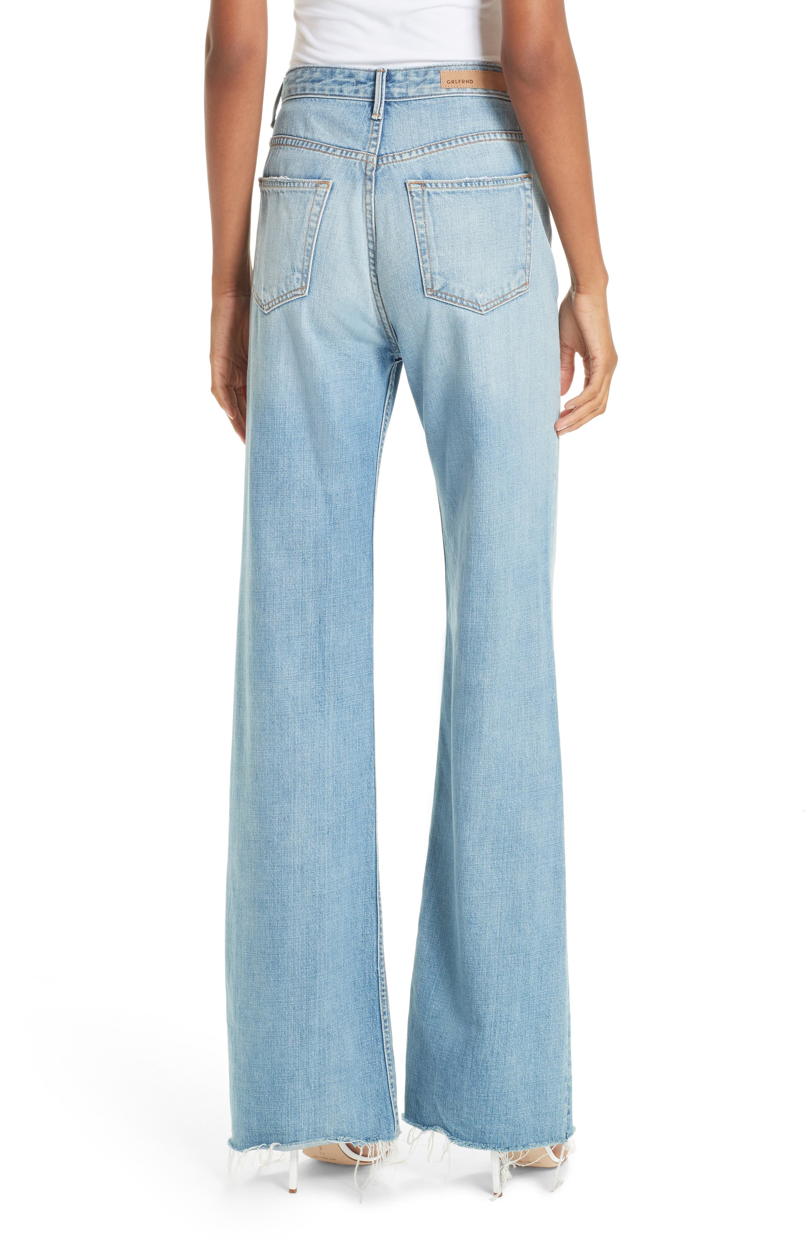 Carla Wide Leg Jeans,                             Alternate thumbnail 2, color,                             GONNA FLY NOW