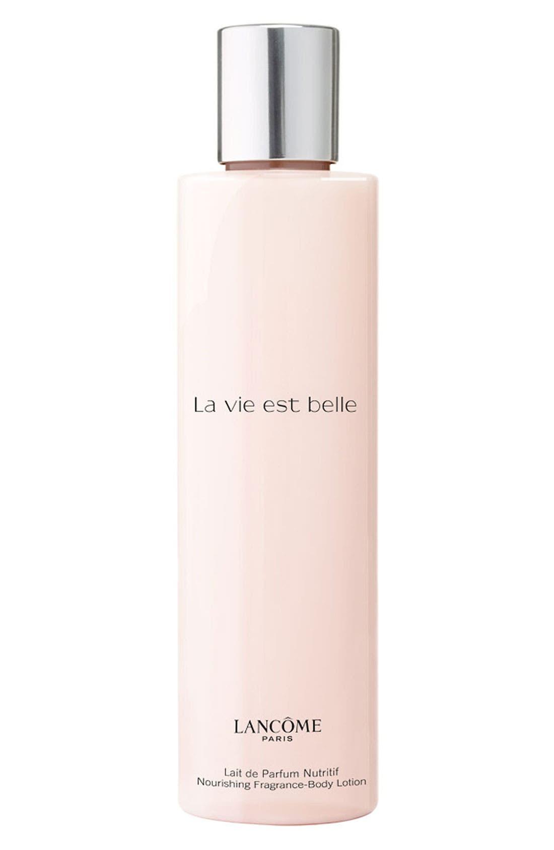 La Vie est Belle Body Lotion,                             Main thumbnail 1, color,                             NO COLOR