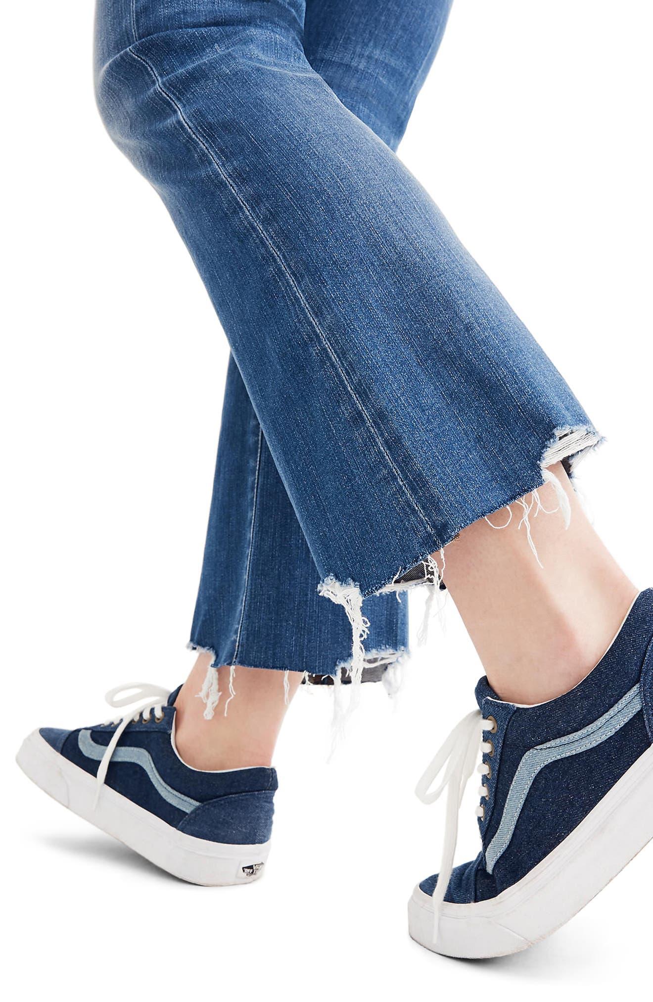 Cali Demi Boot Jeans,                             Alternate thumbnail 3, color,                             400