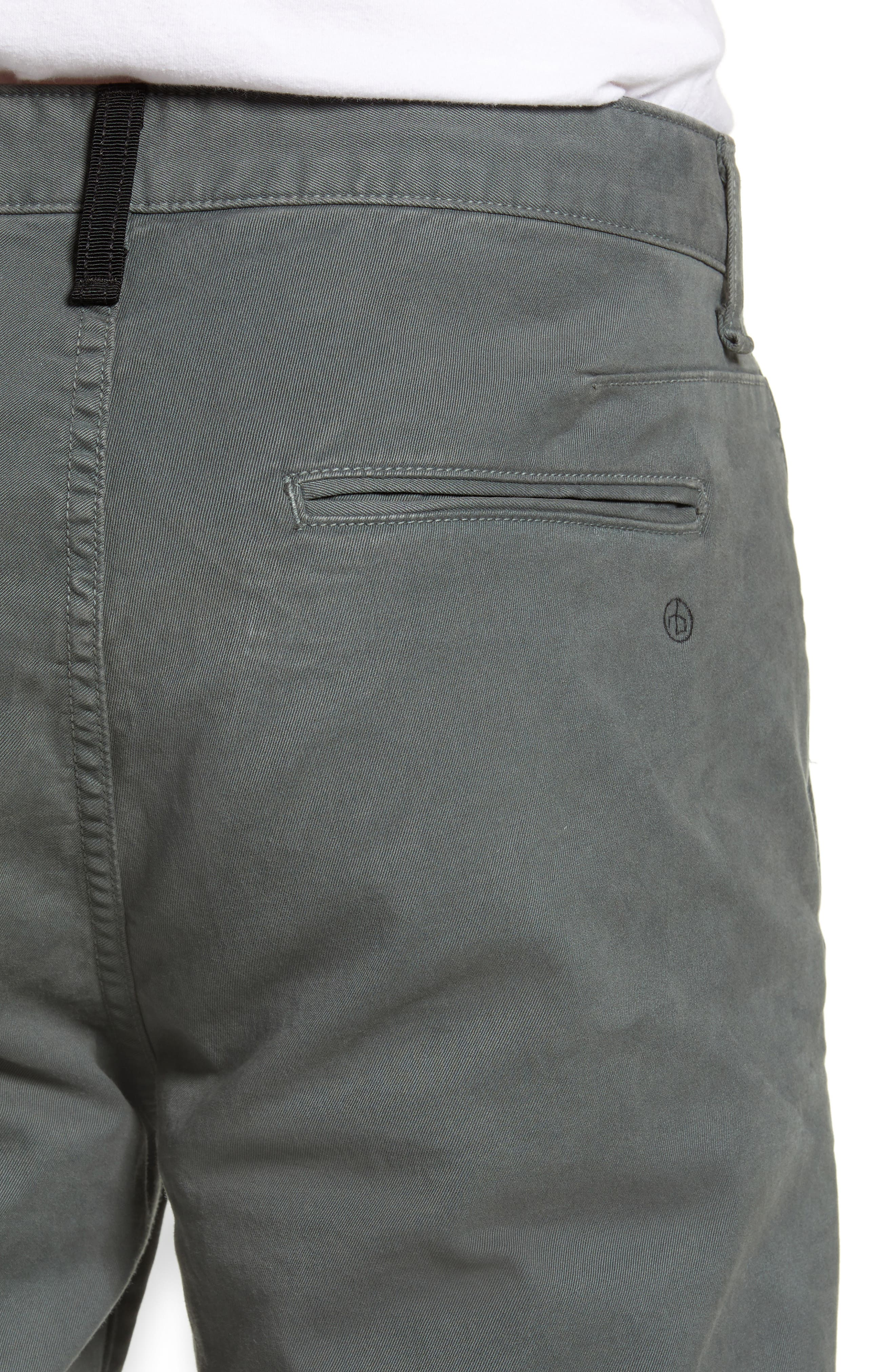 Fit 2 Slim Fit Chinos,                             Alternate thumbnail 4, color,                             TORREY PINE