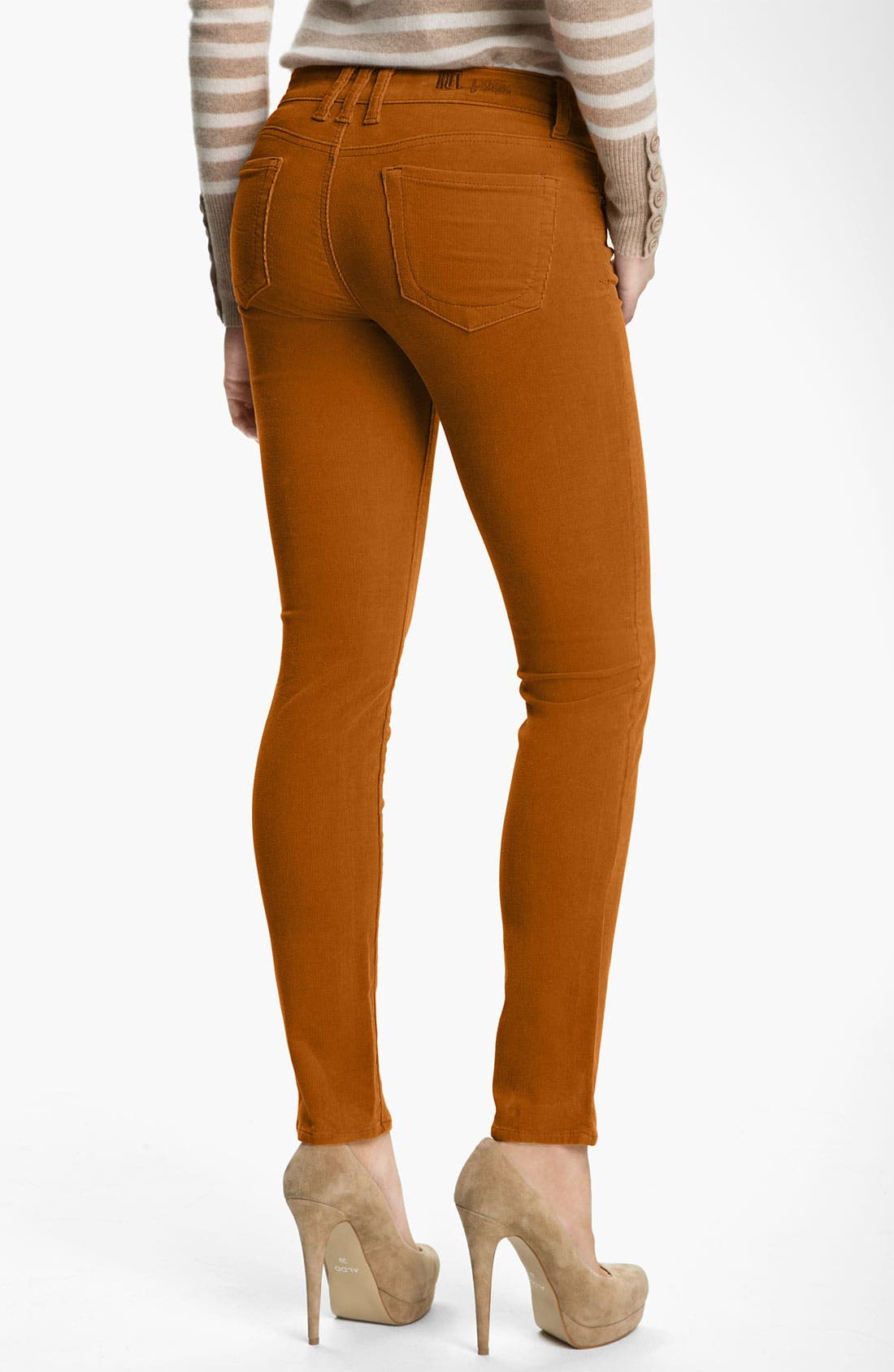 'Diana' Stretch Corduroy Skinny Pants,                             Alternate thumbnail 163, color,