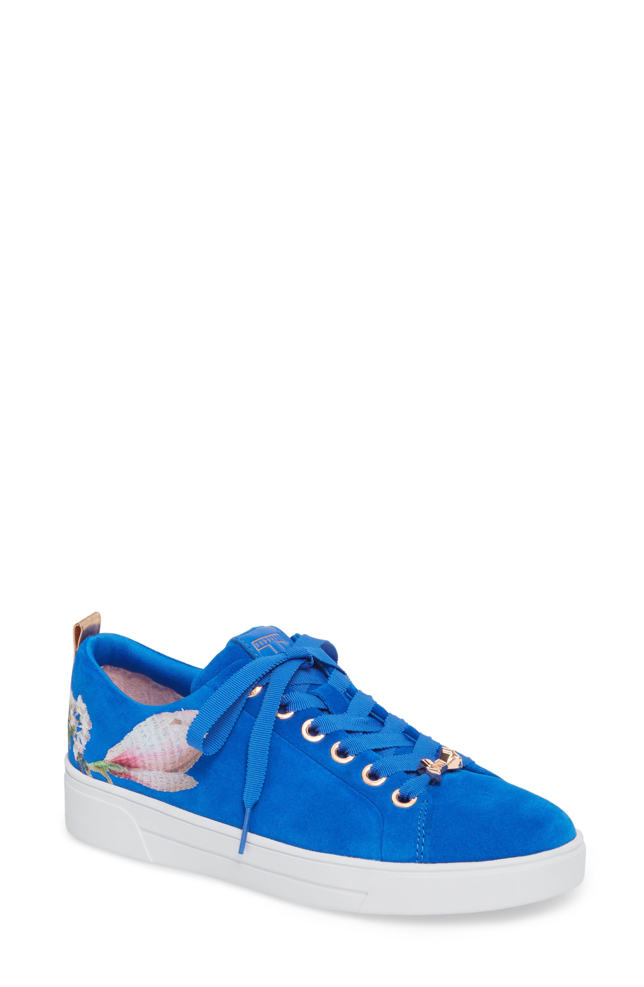 Eryin Sneaker,                             Main thumbnail 1, color,                             BLUE HARMONY PRINT SUEDE