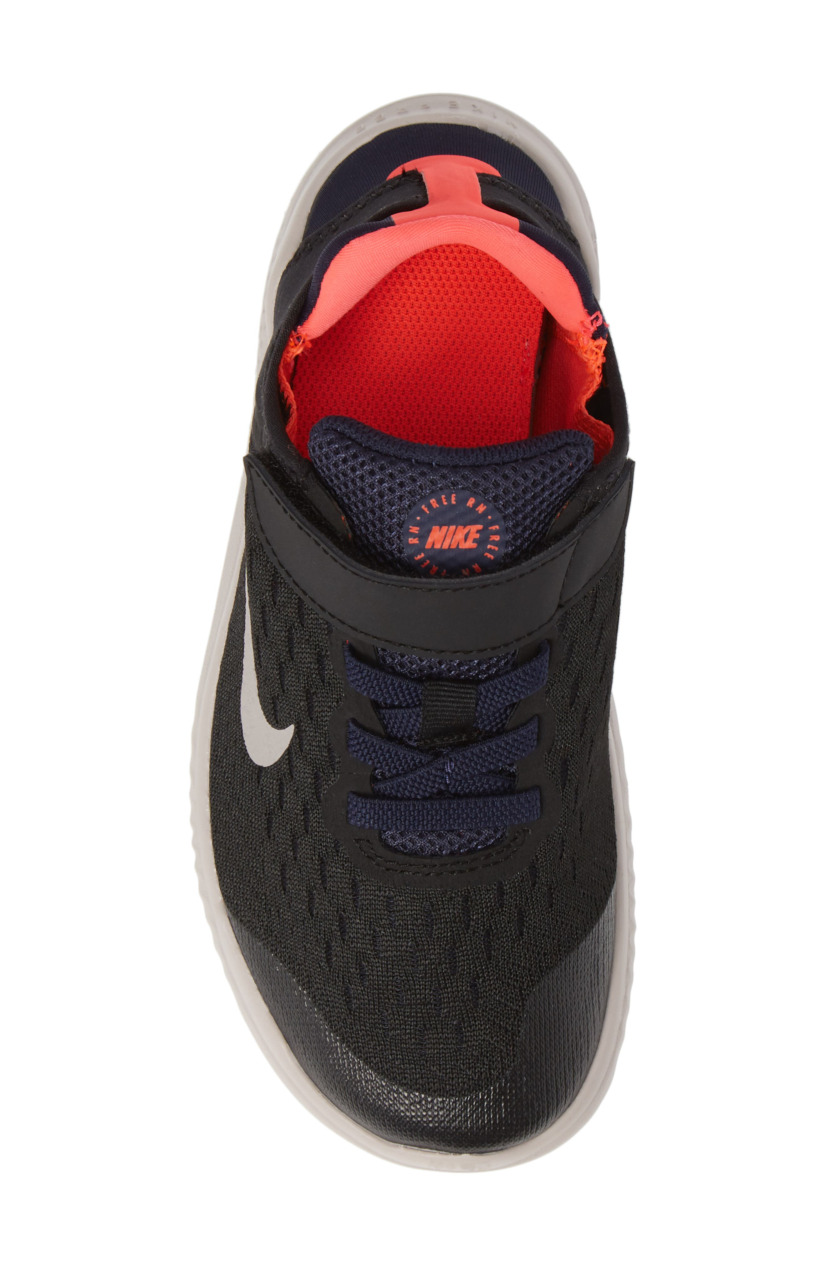 Free RN Running Shoe,                             Alternate thumbnail 5, color,                             BLACK MOON PARTICLE