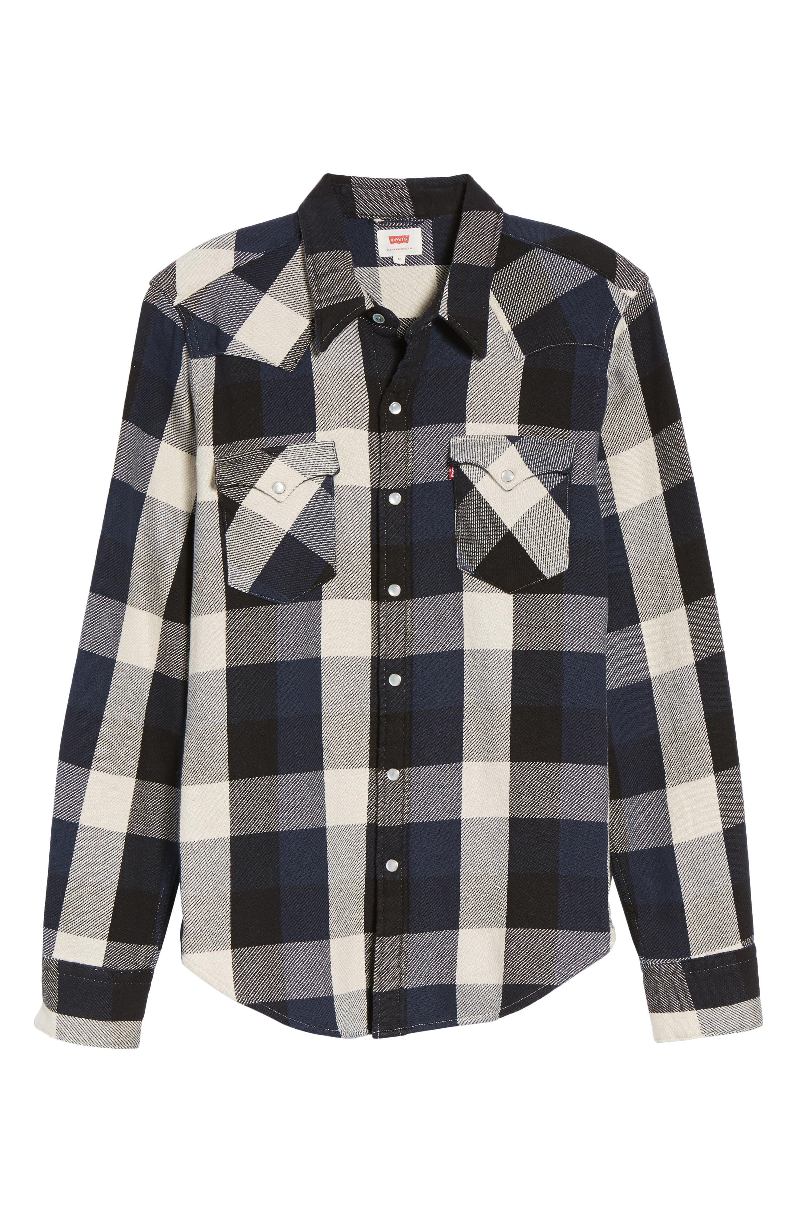 'Barstow' Denim Western Shirt,                             Alternate thumbnail 33, color,