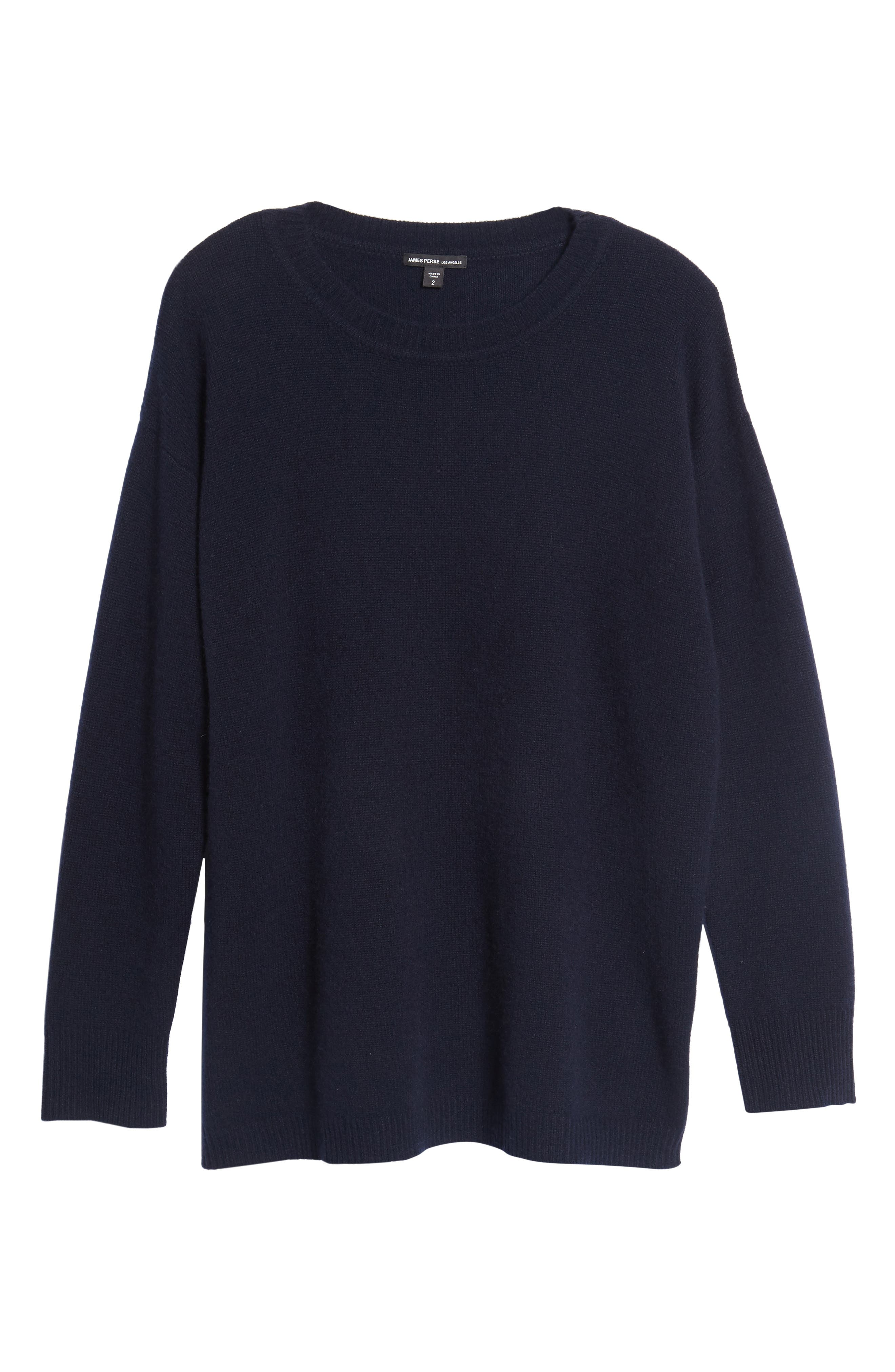 Oversize Cashmere Sweater,                             Alternate thumbnail 6, color,                             415