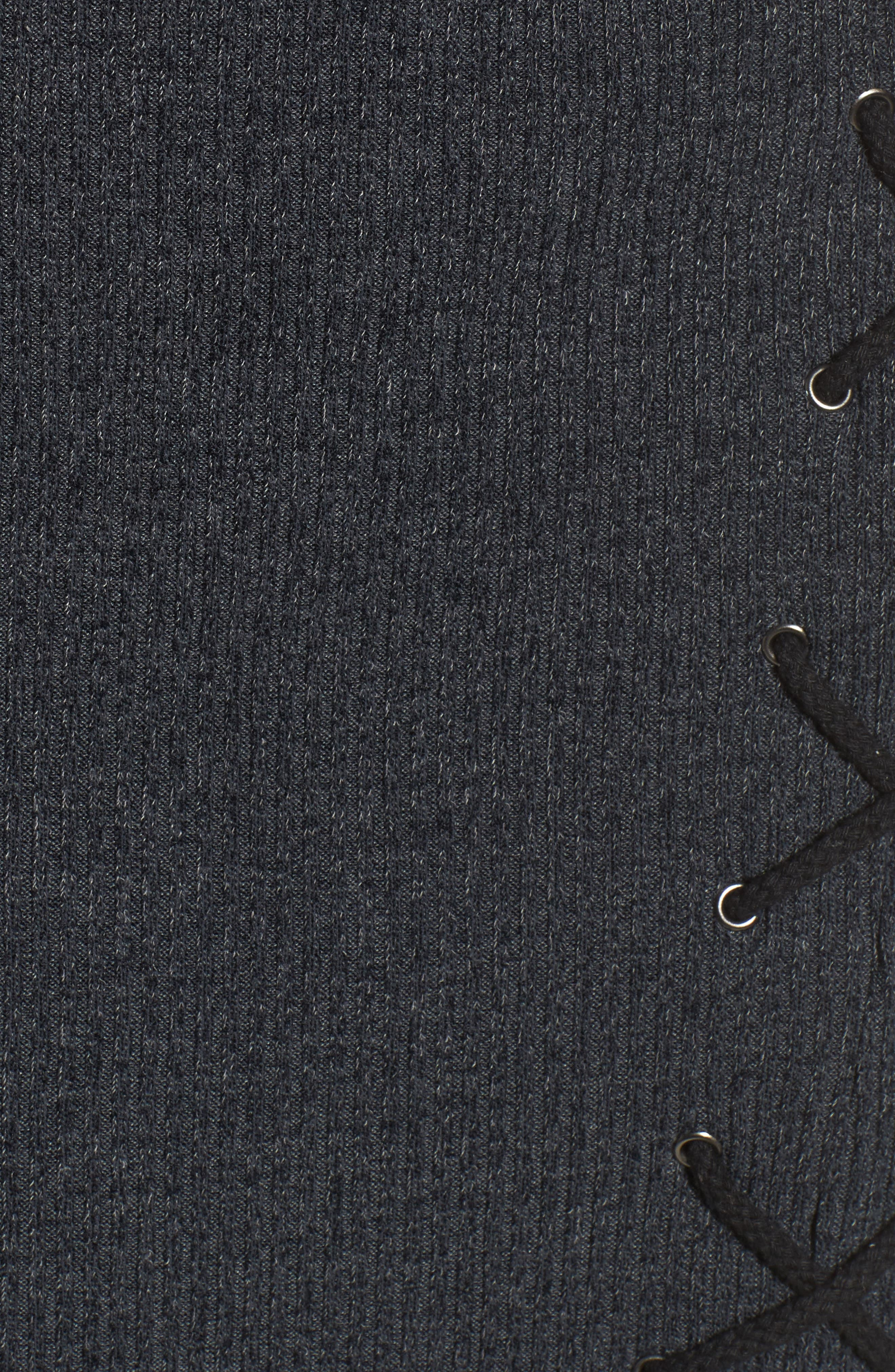 Monica Choker Neck Sweater Dress,                             Alternate thumbnail 5, color,                             020