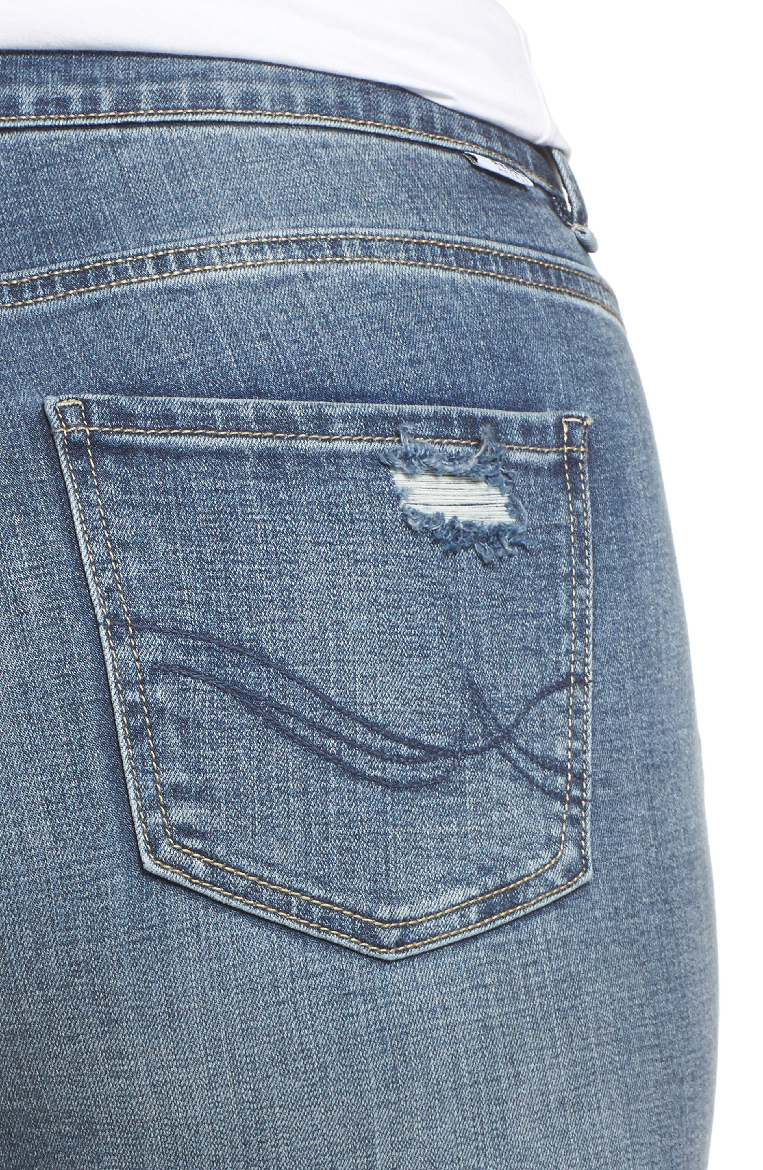 The Pin Up Super Skinny Jeans,                             Alternate thumbnail 17, color,