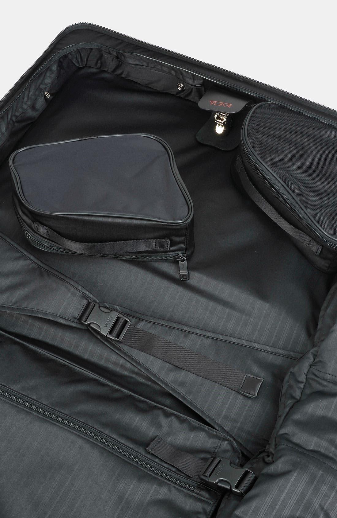 TUMI,                             'Alpha' Wheeled Carry-On Garment Bag,                             Alternate thumbnail 5, color,                             001