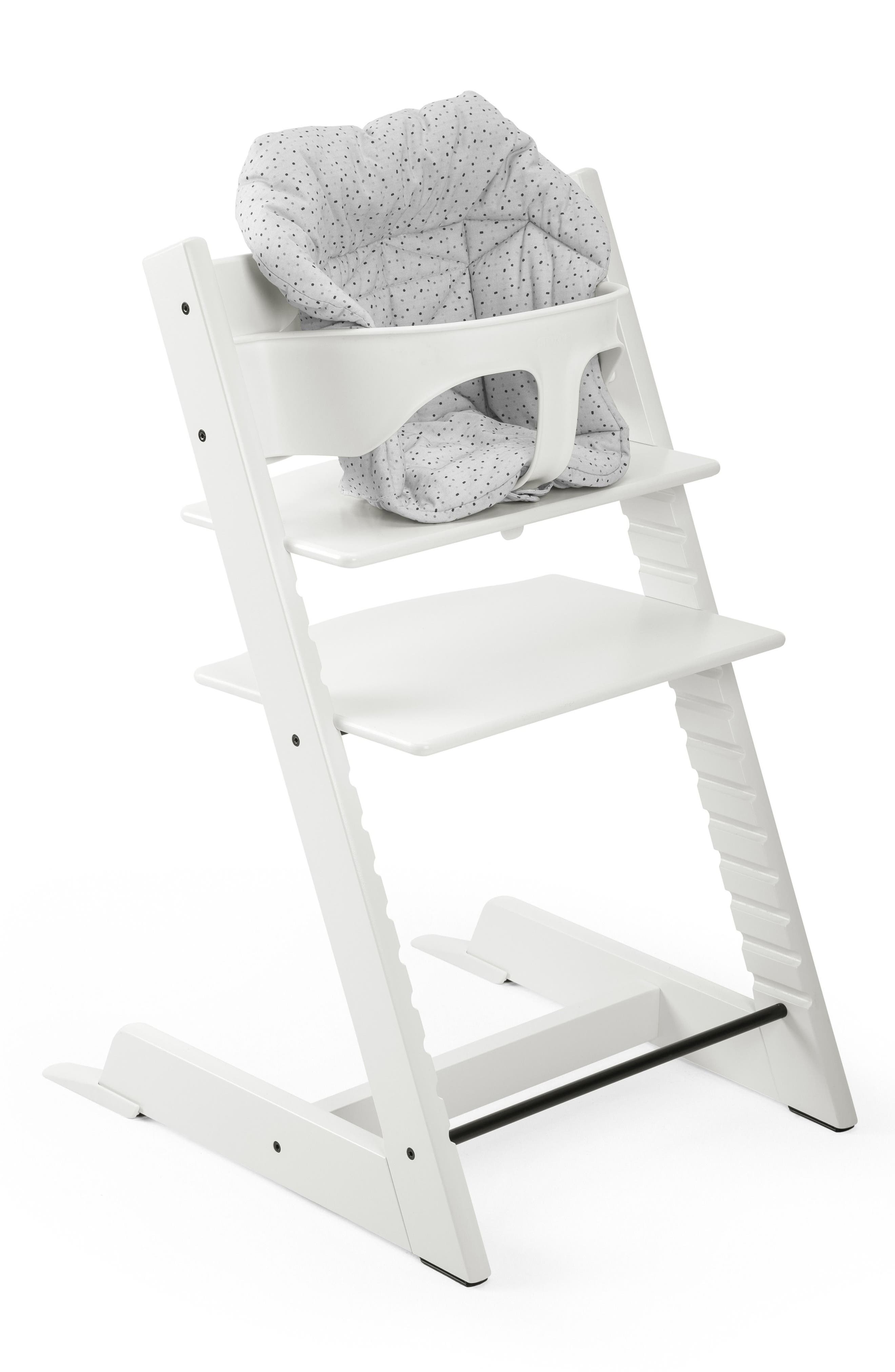 Seat Cushion for Tripp Trapp<sup>®</sup> Highchair,                             Alternate thumbnail 5, color,                             CLOUD SPRINKLE