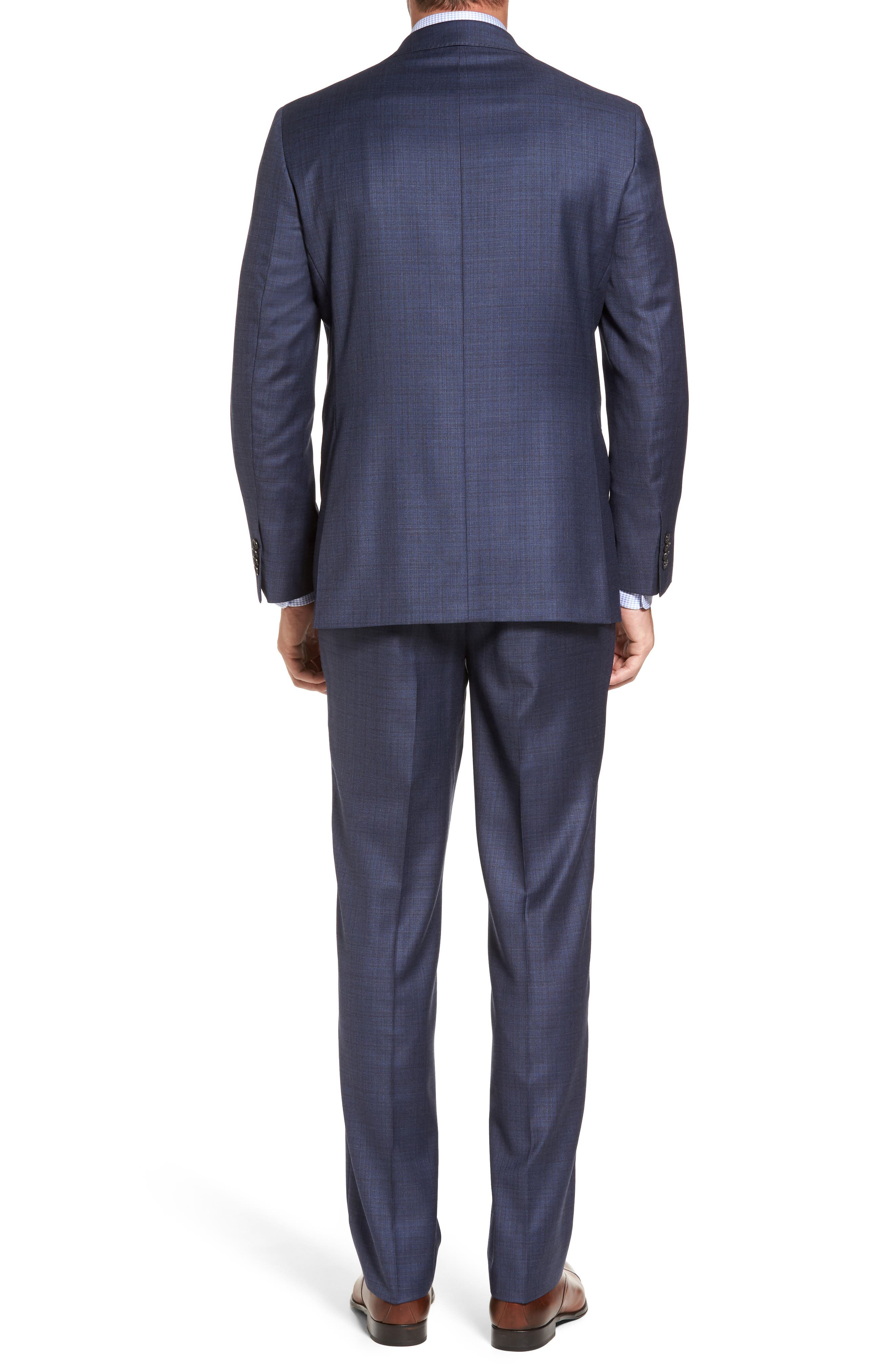 Ryan Classic Fit Check Wool Suit,                             Alternate thumbnail 2, color,                             420