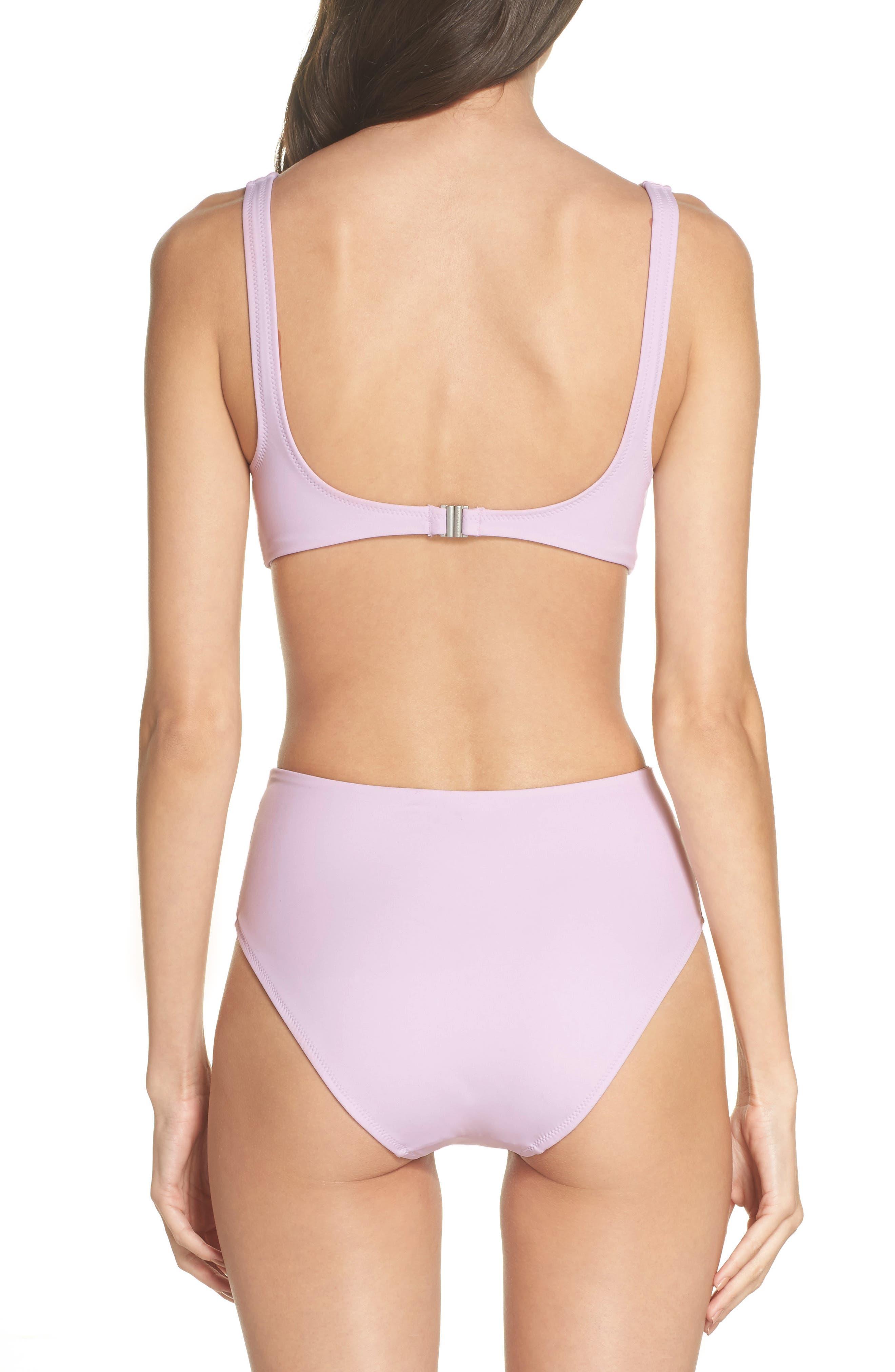 The Bailey One-Piece Swimsuit,                             Alternate thumbnail 2, color,                             PURPLE