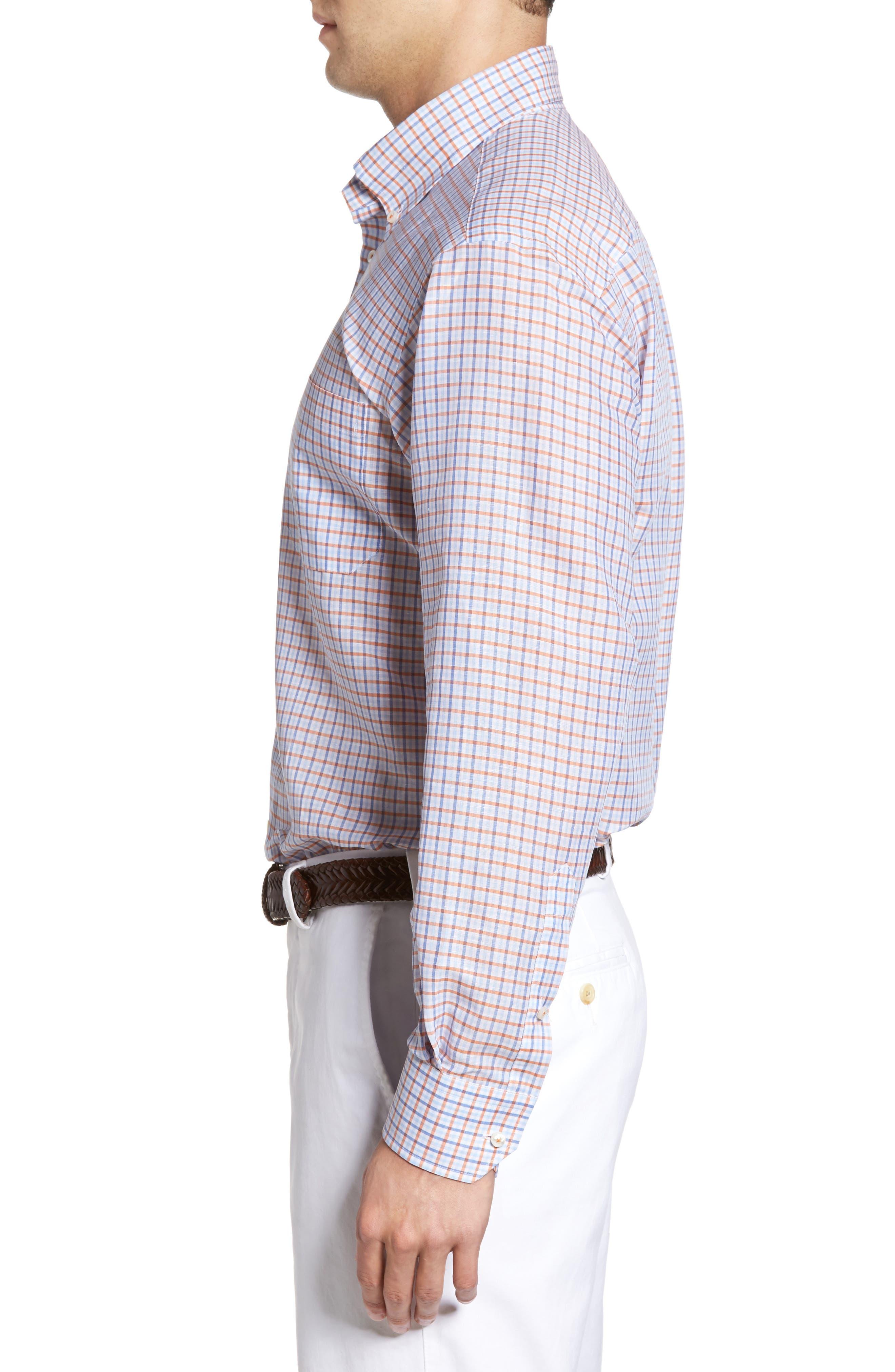 Estate Classic Fit Sport Shirt,                             Alternate thumbnail 3, color,                             810