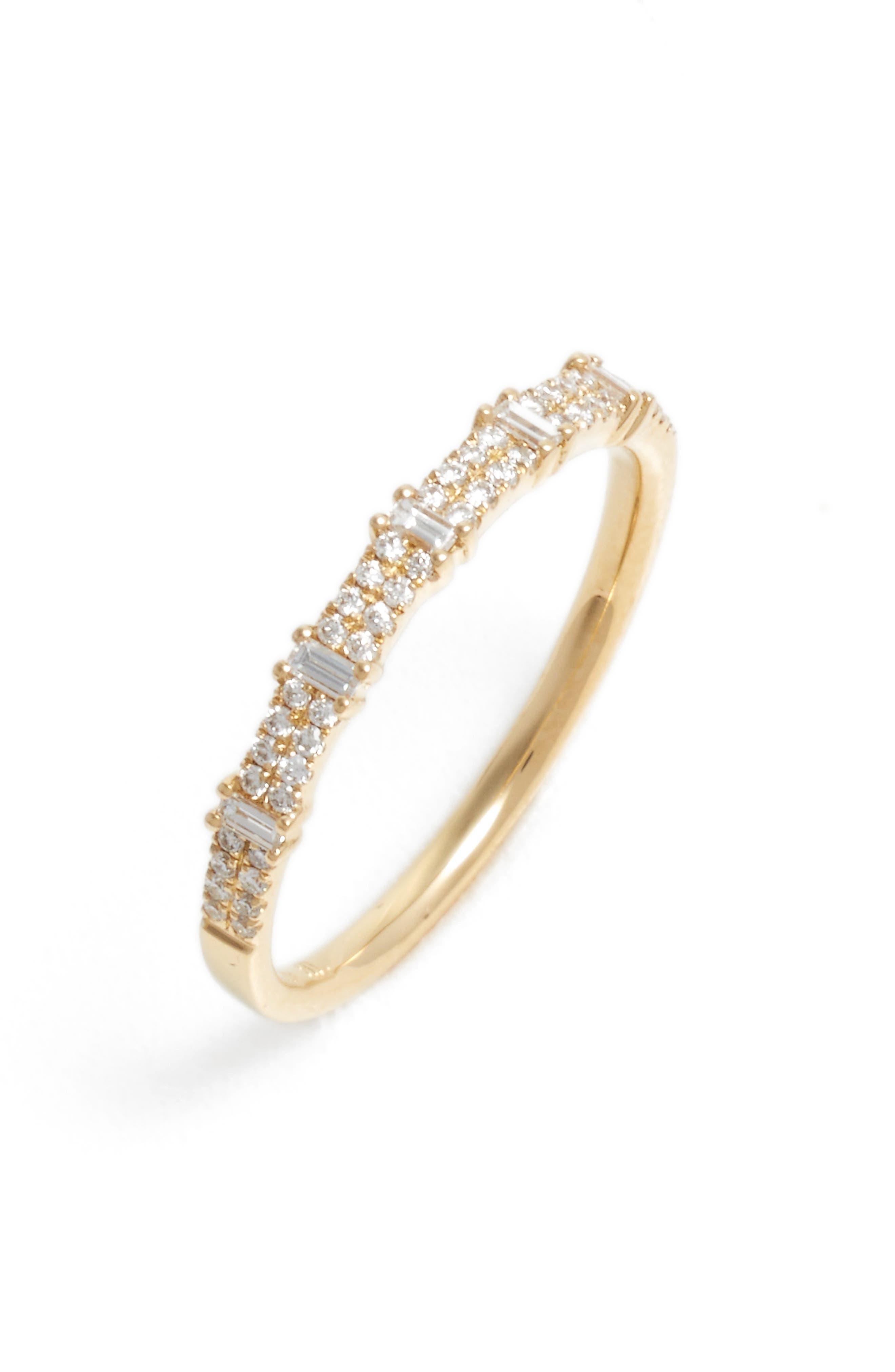 Amara Diamond Stack Ring,                             Main thumbnail 1, color,                             710