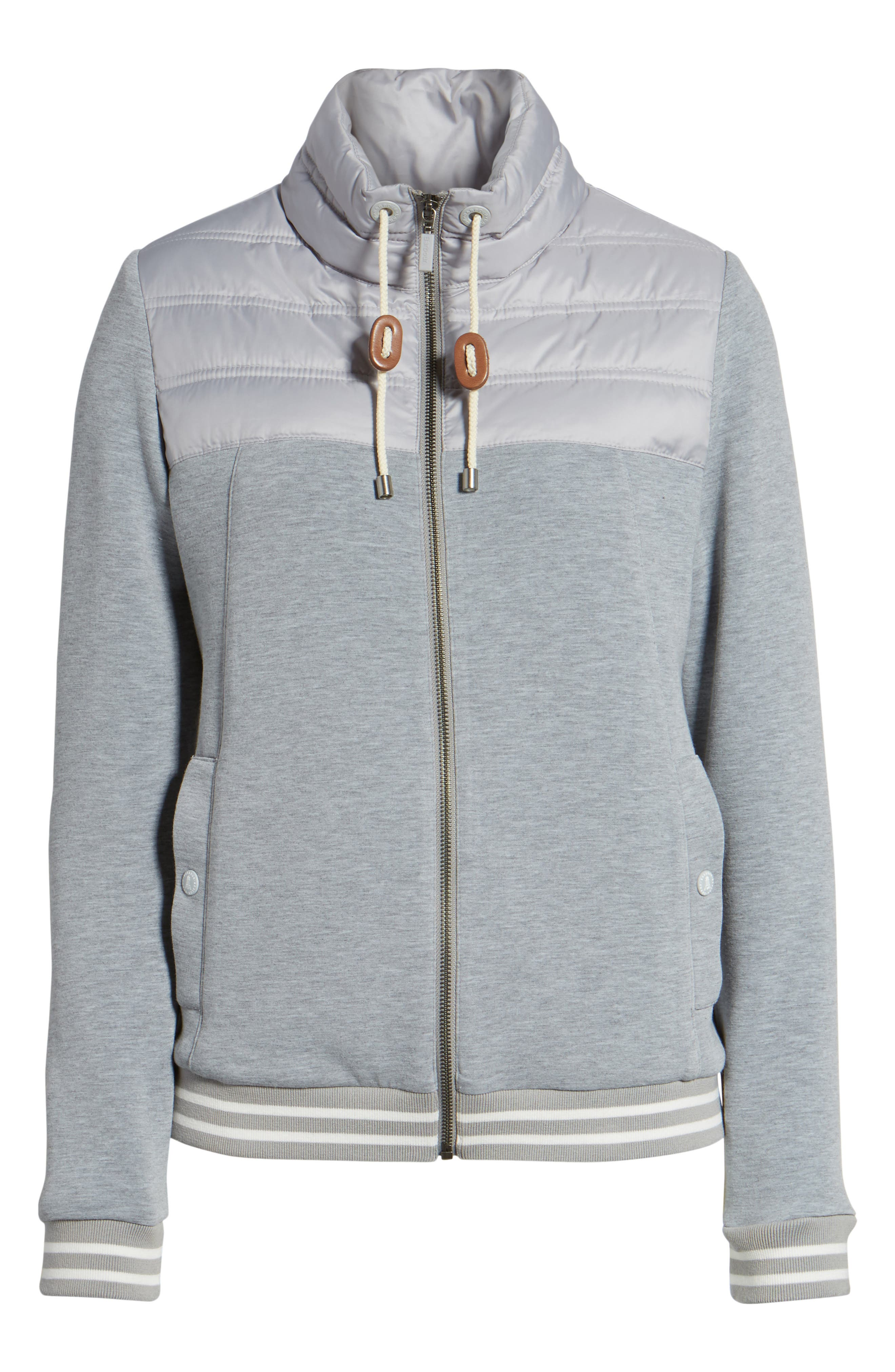 Selsey Zip Sweater,                             Alternate thumbnail 5, color,                             050