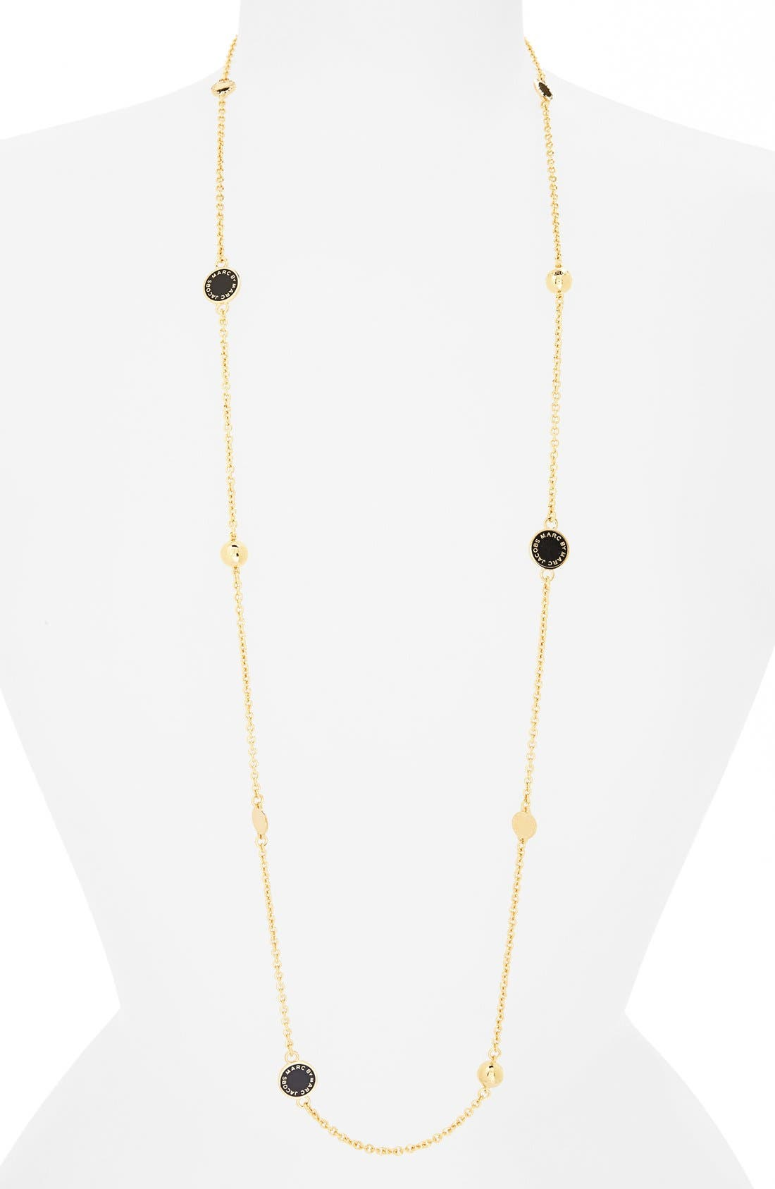 'Classic Marc' Long Necklace,                             Main thumbnail 4, color,