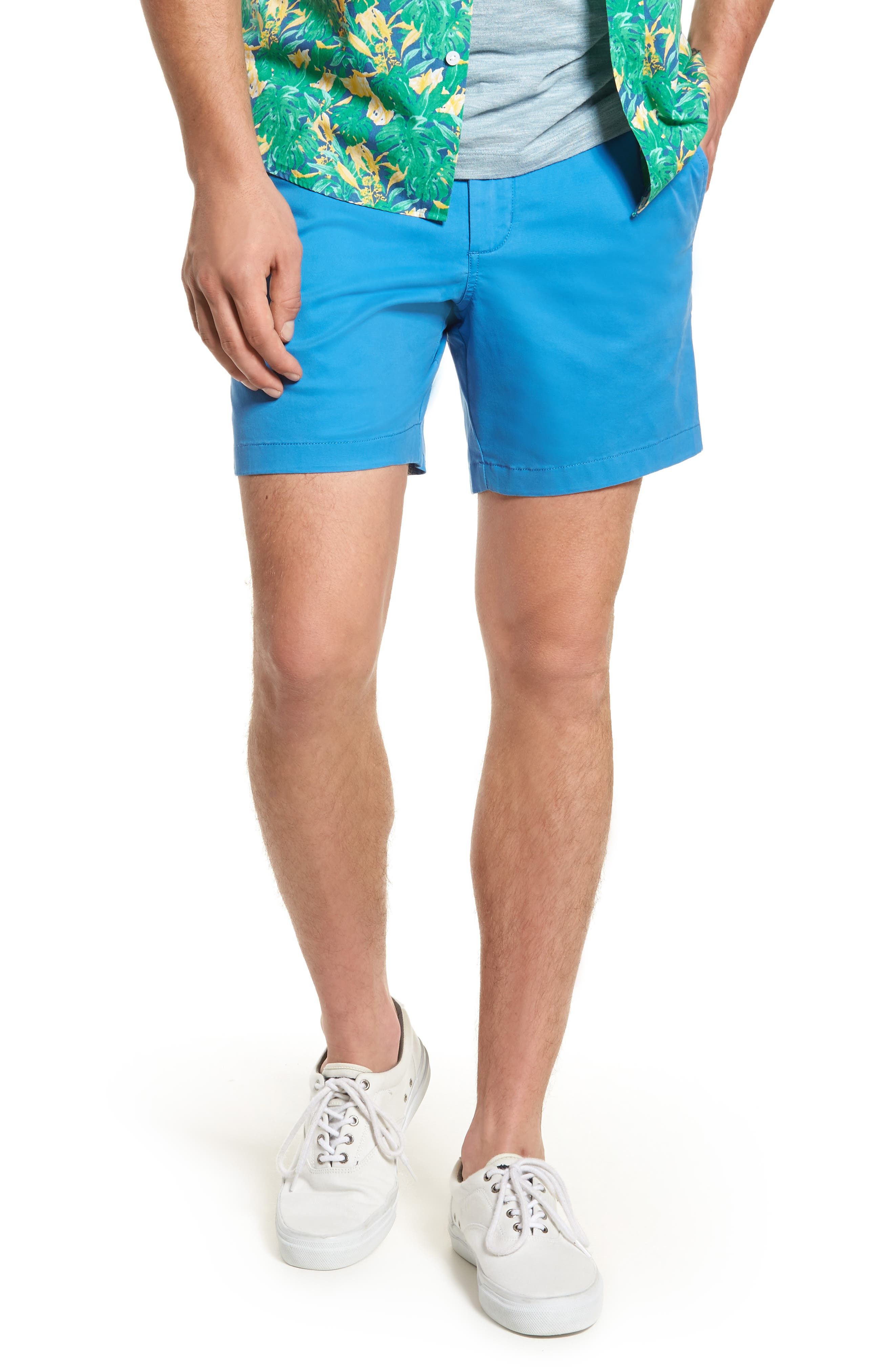 Ballard Slim Fit Stretch Chino 7-Inch Shorts,                             Main thumbnail 9, color,