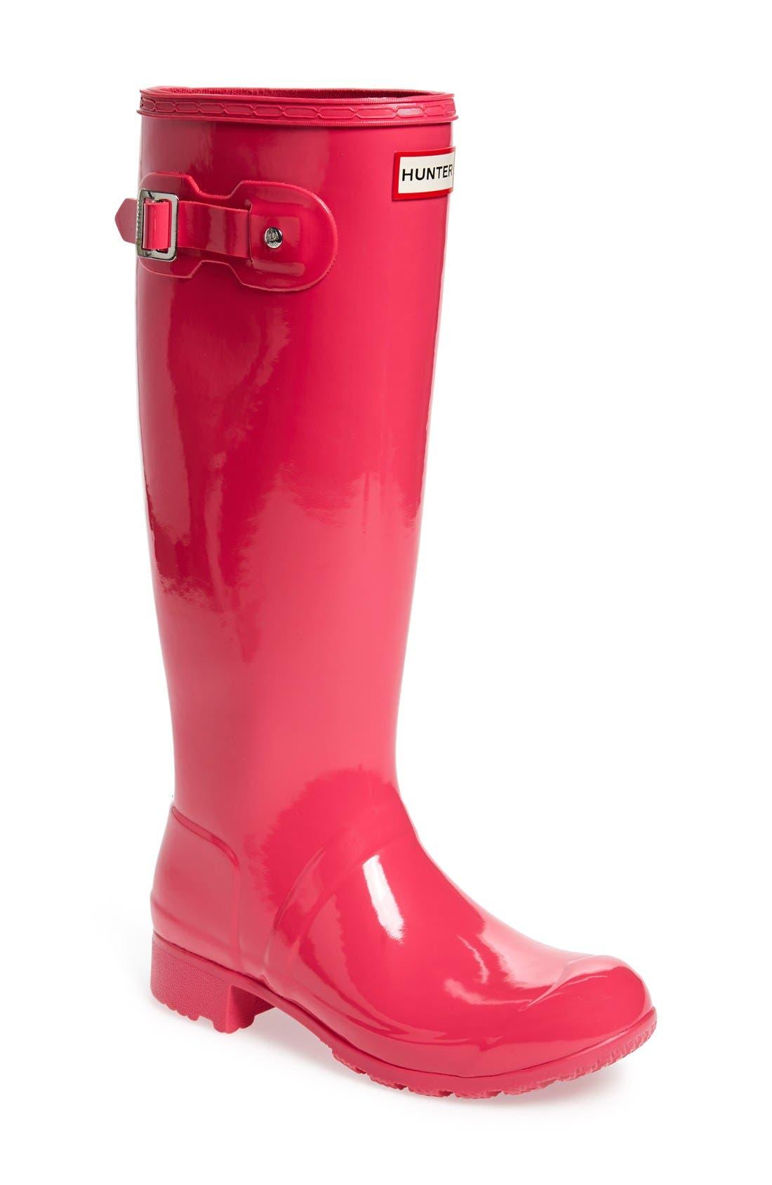 Original Tour Gloss Packable Rain Boot,                             Main thumbnail 10, color,