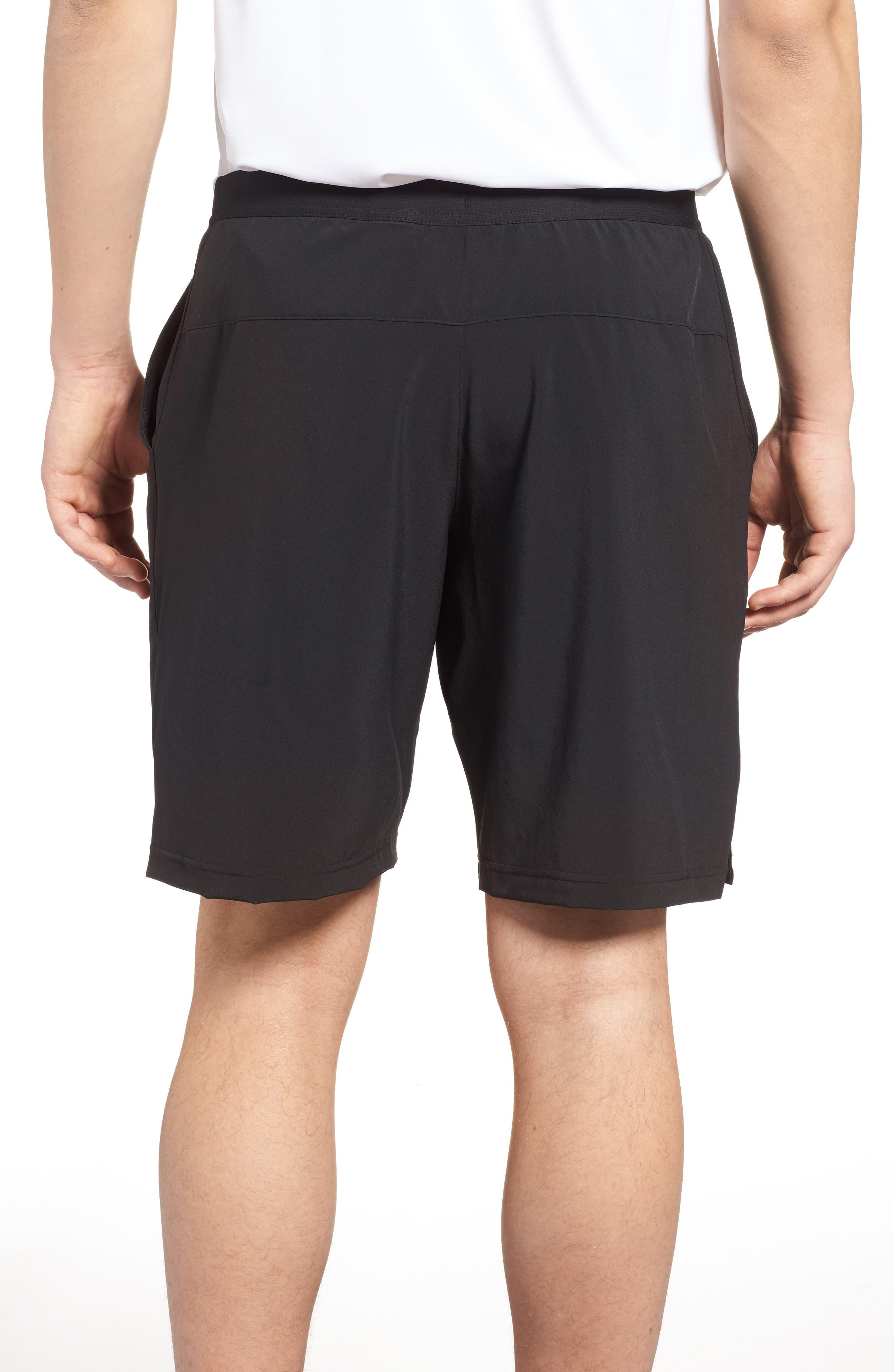 Speedwick Speed Training Shorts,                             Alternate thumbnail 2, color,                             BLACK