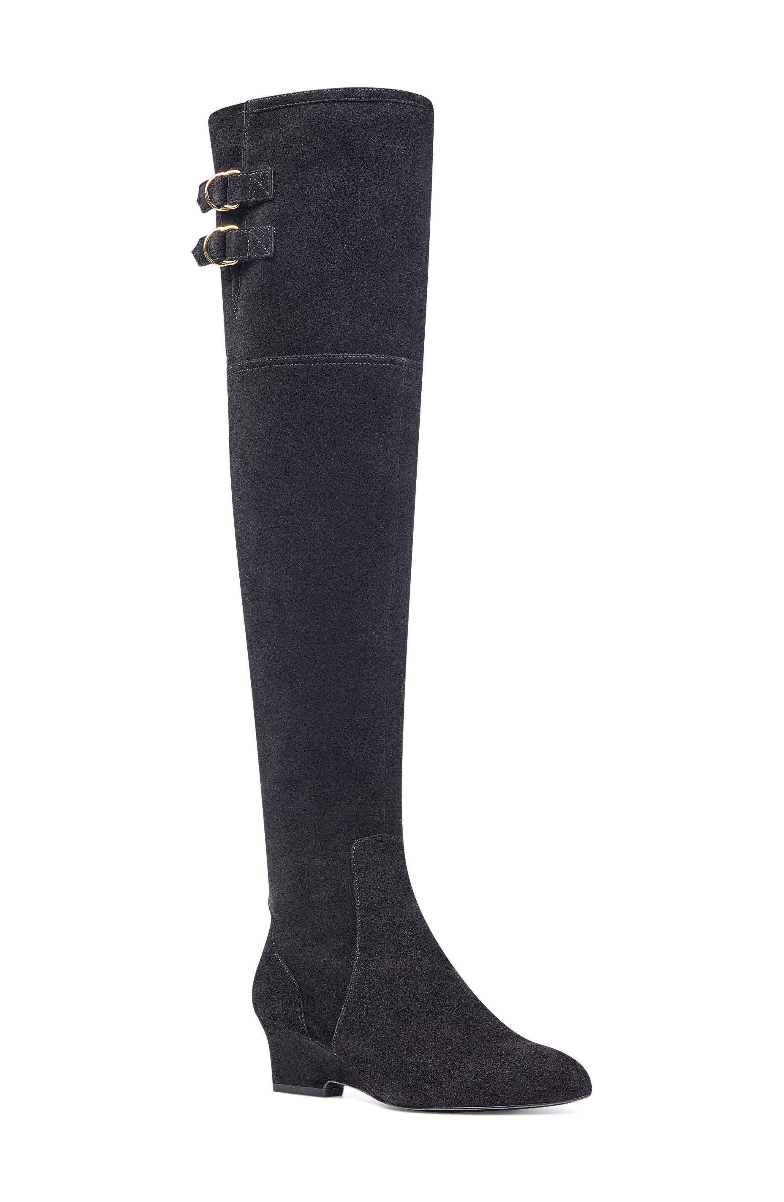 NINE WEST,                             Jaen Over the Knee Boot,                             Main thumbnail 1, color,                             001