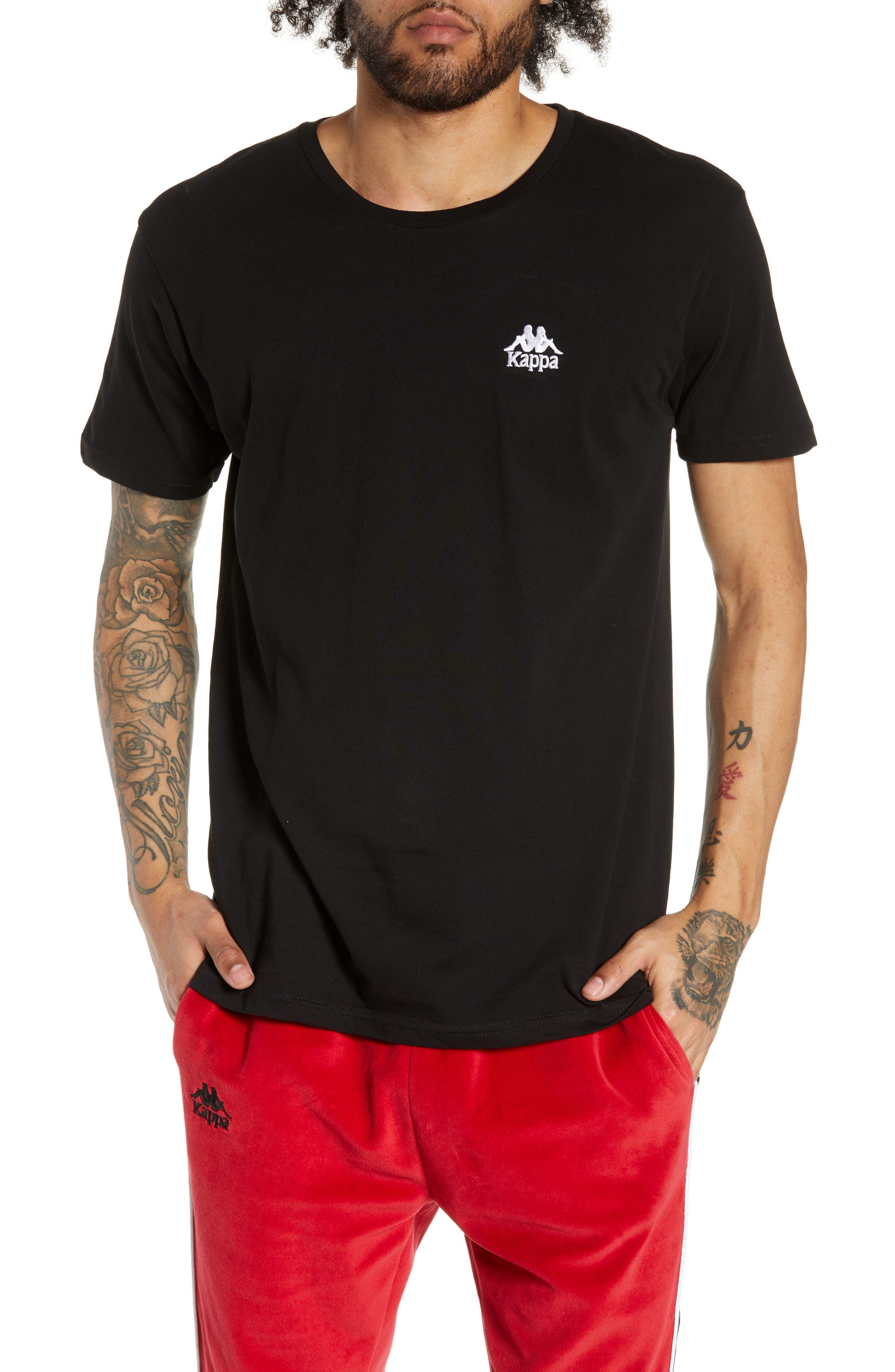 Kappa Active Authentic Bzalaya Logo T-Shirt, Black