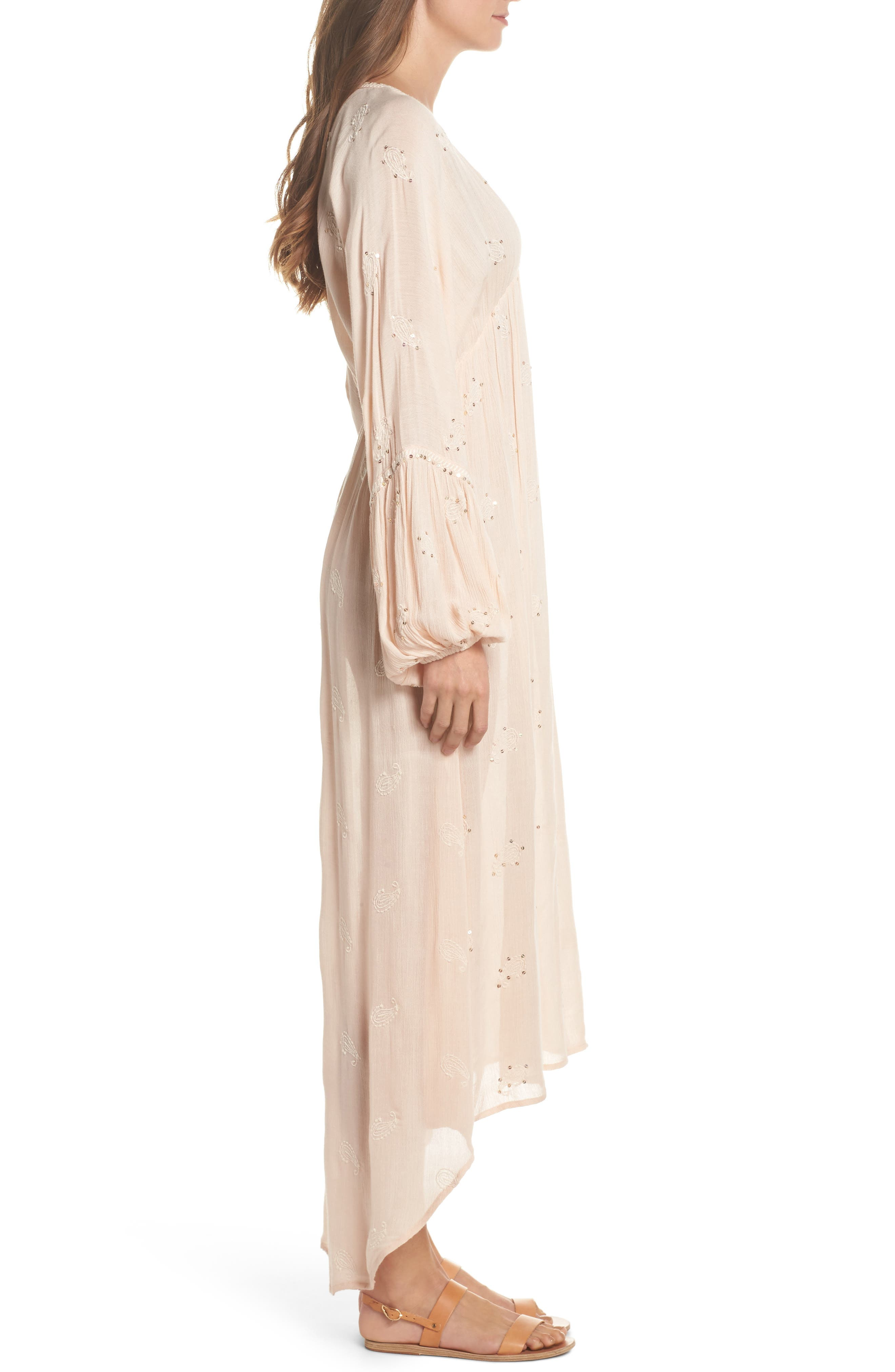 Mercer Cover-Up Maxi Dress,                             Alternate thumbnail 3, color,                             650