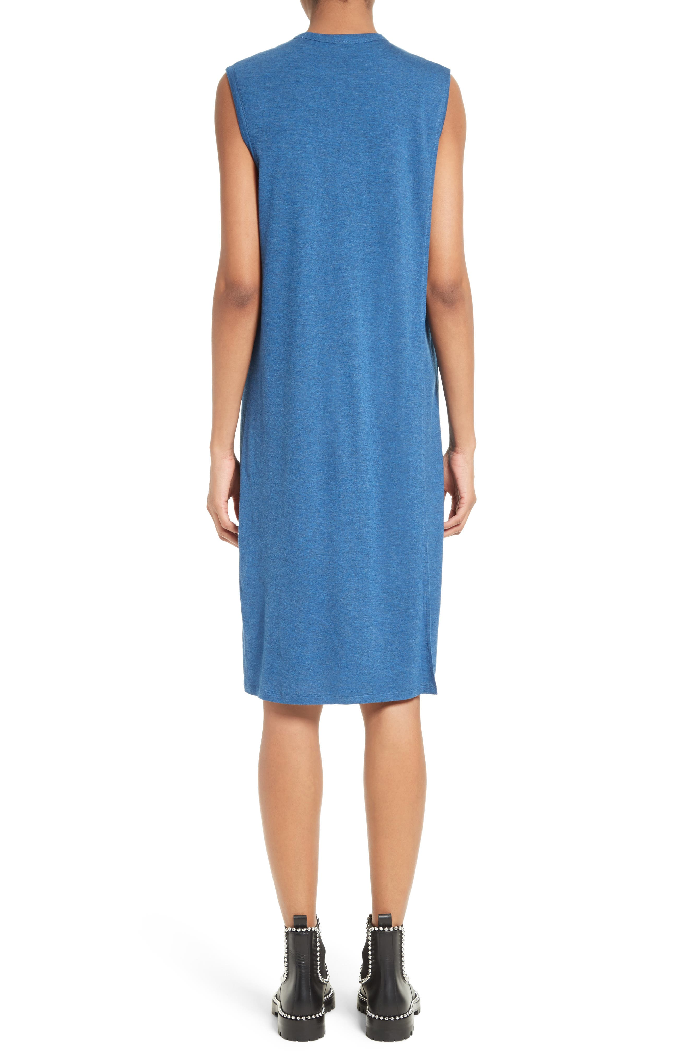Overlap T-Shirt Dress,                             Alternate thumbnail 2, color,