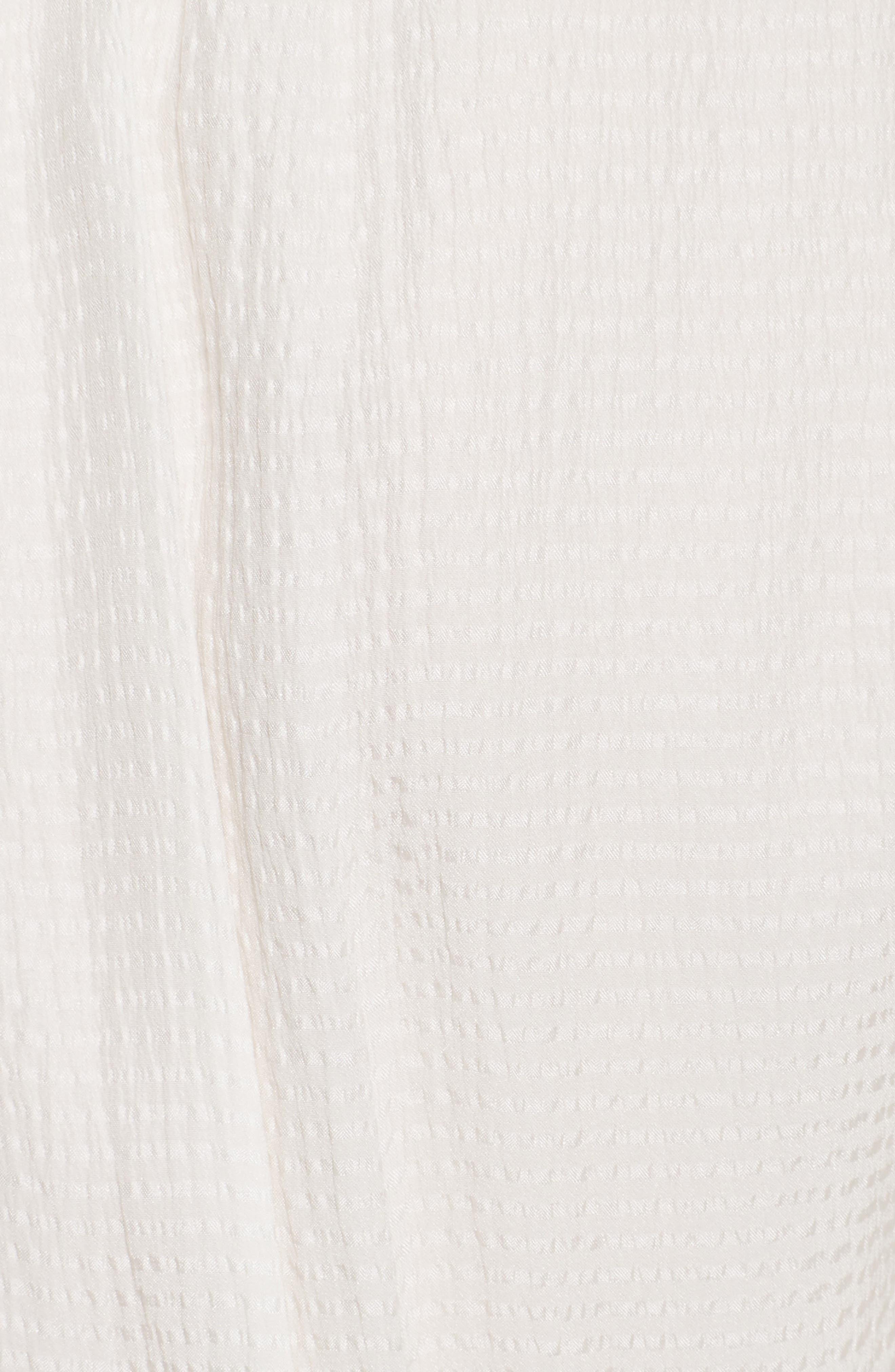 Silk & Tweed A-Line Dress,                             Alternate thumbnail 5, color,