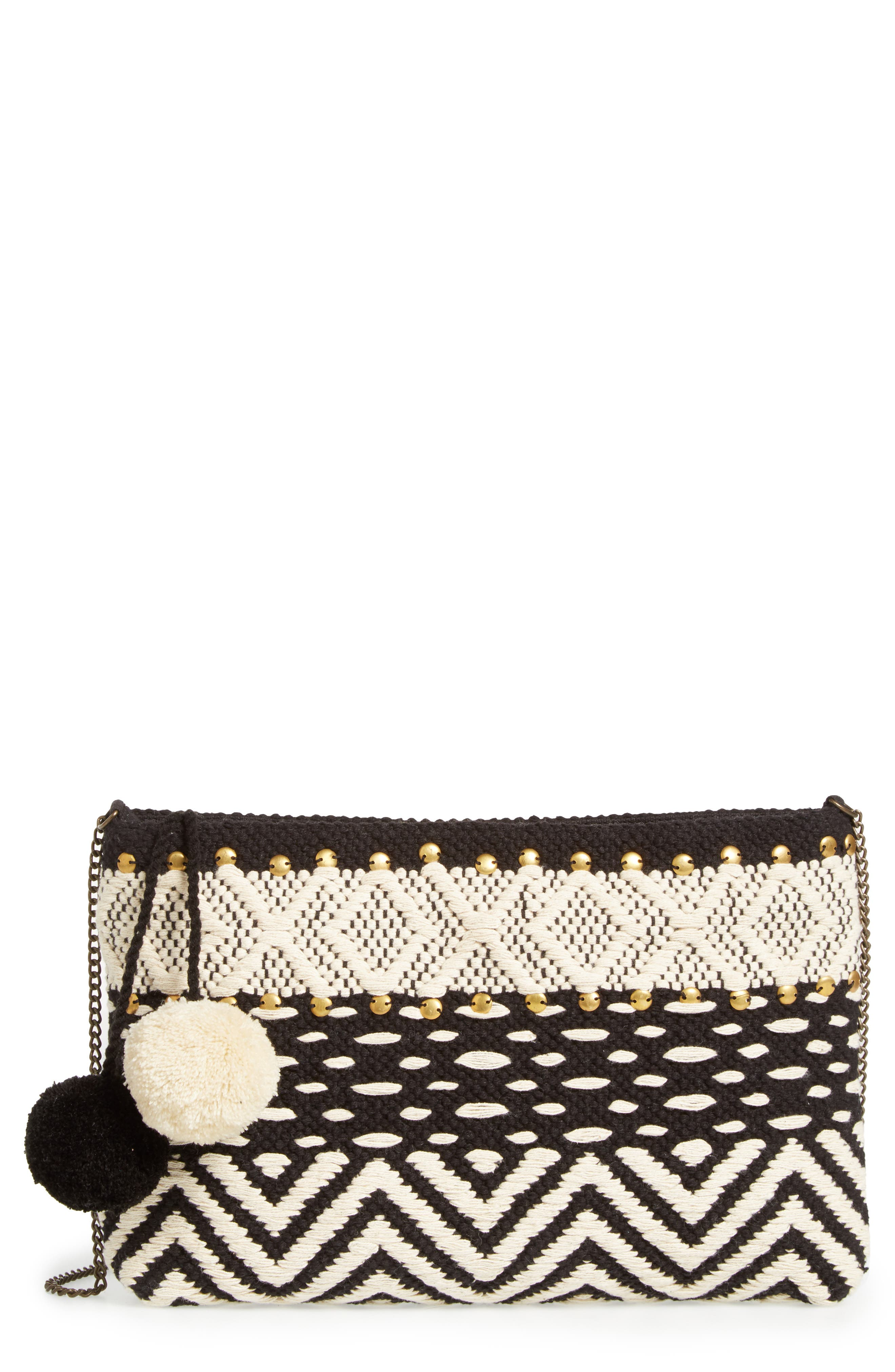 Lowell Clutch,                             Main thumbnail 1, color,                             001