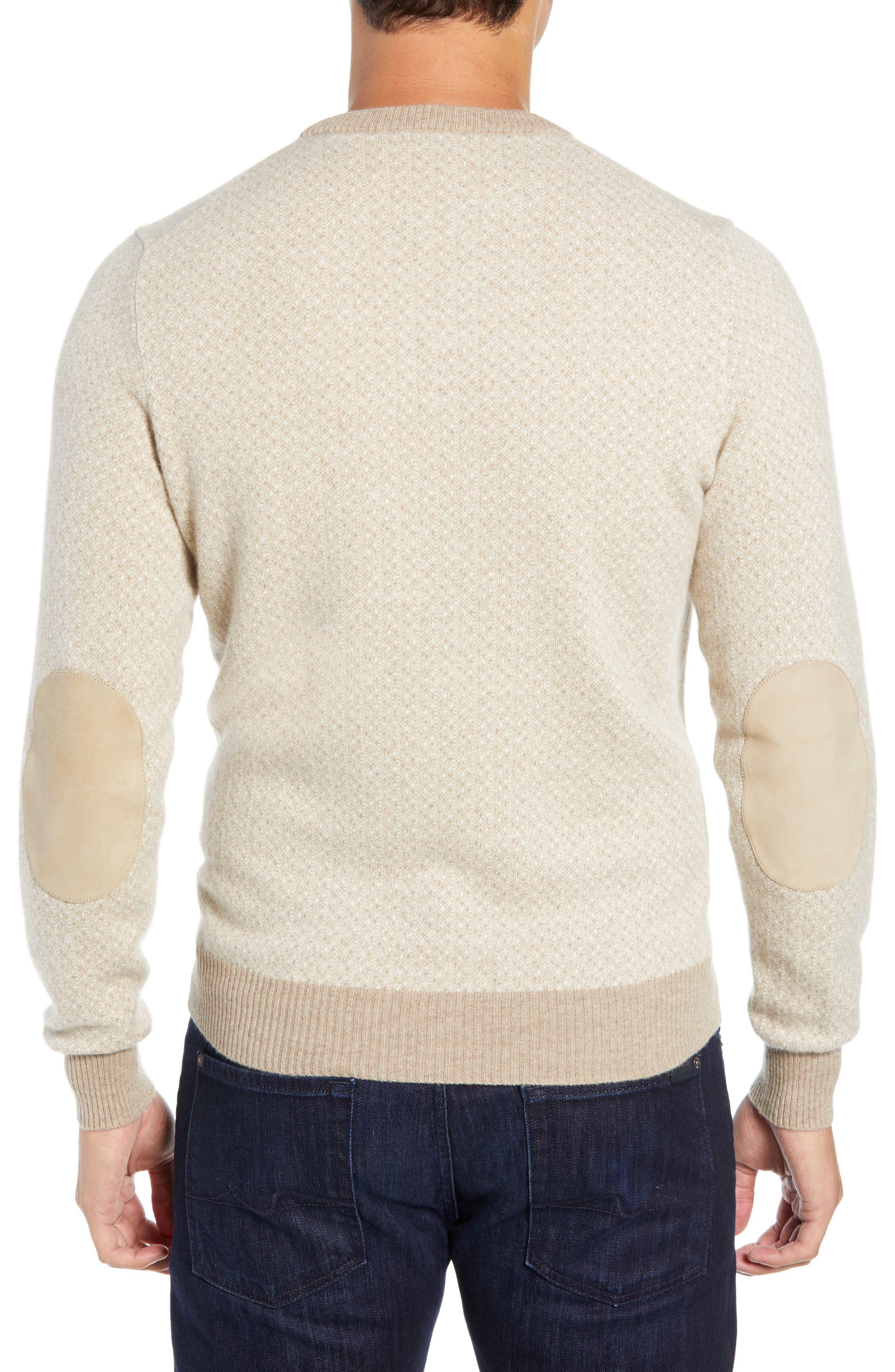 Crewneck Cashmere Sweater,                             Alternate thumbnail 2, color,                             BEIGE