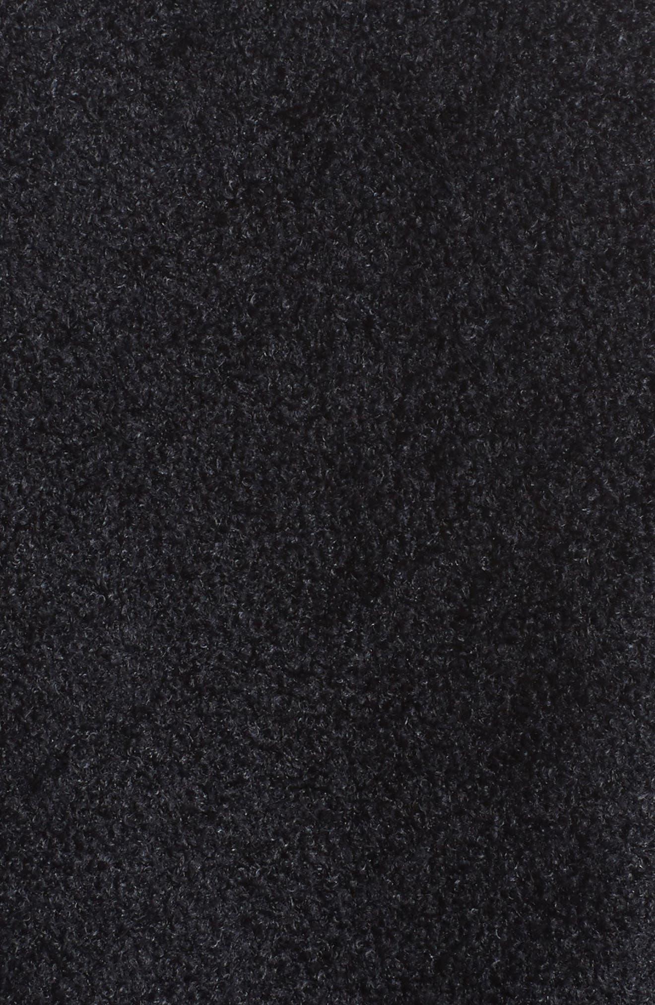 Cliffside Circle Wrap,                             Alternate thumbnail 5, color,                             BLACK/ GRAPHITE