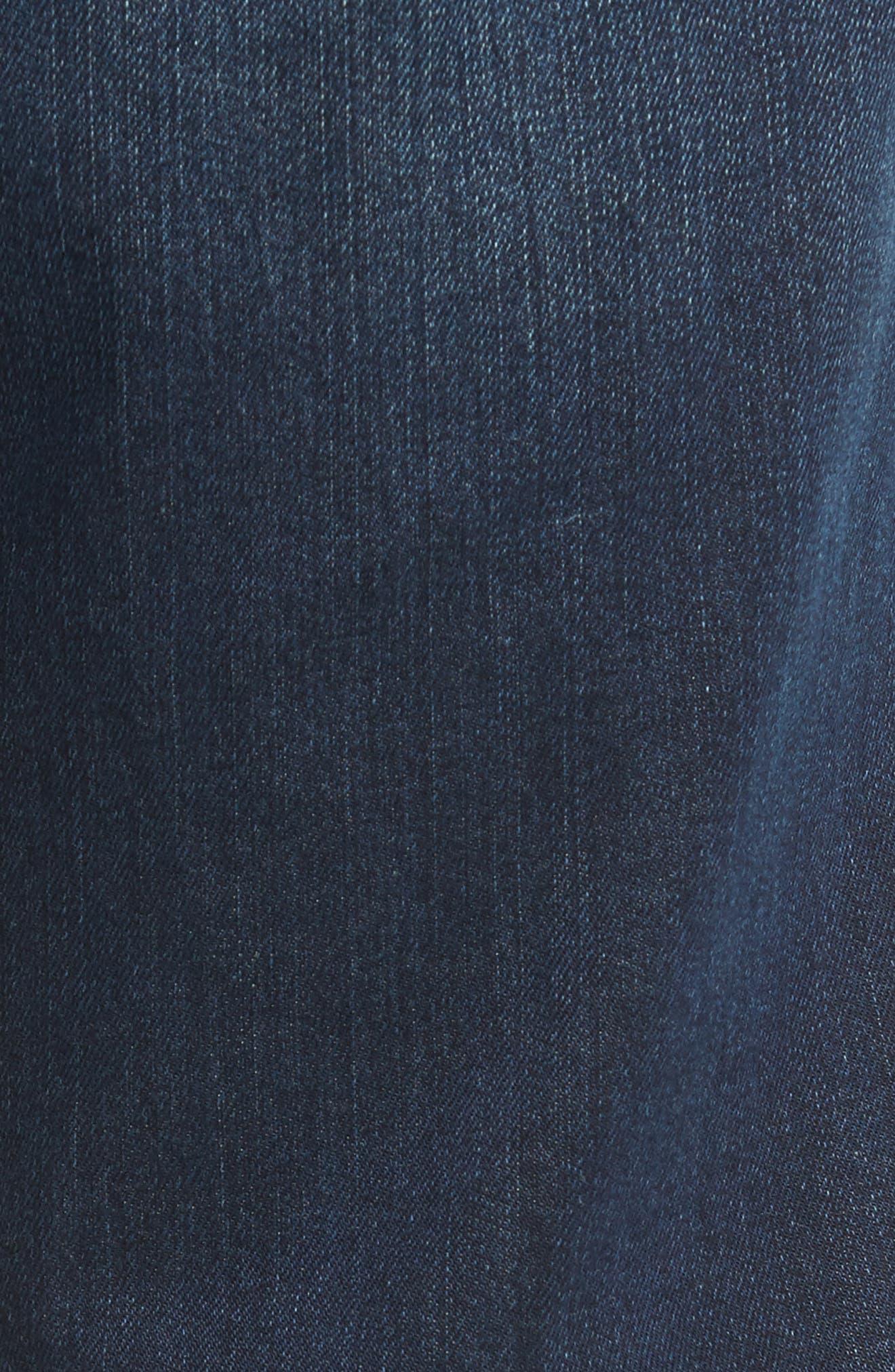Straight Leg Jeans,                             Alternate thumbnail 5, color,                             400