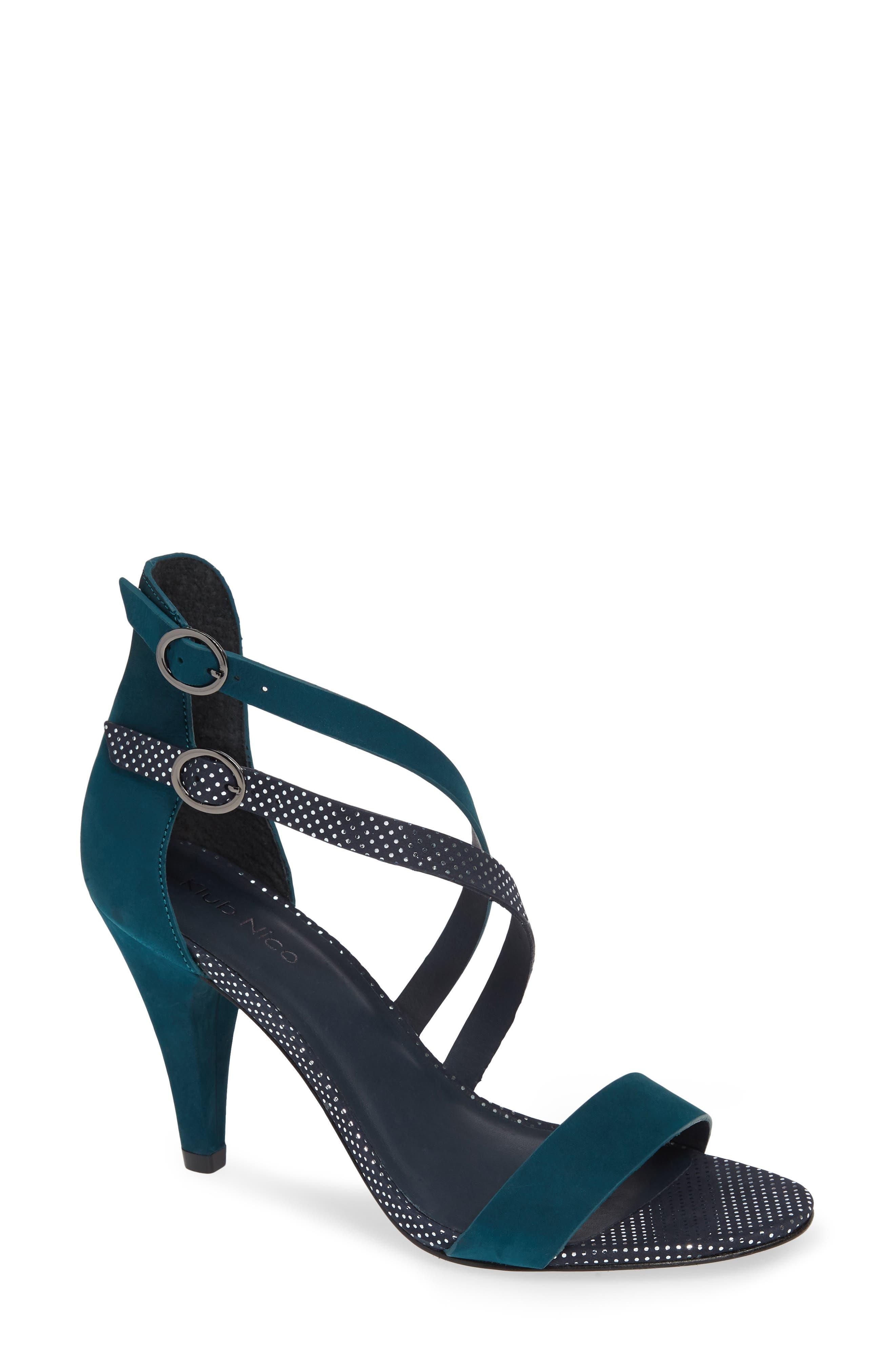Klub Nico Arden Sandal, Blue/green