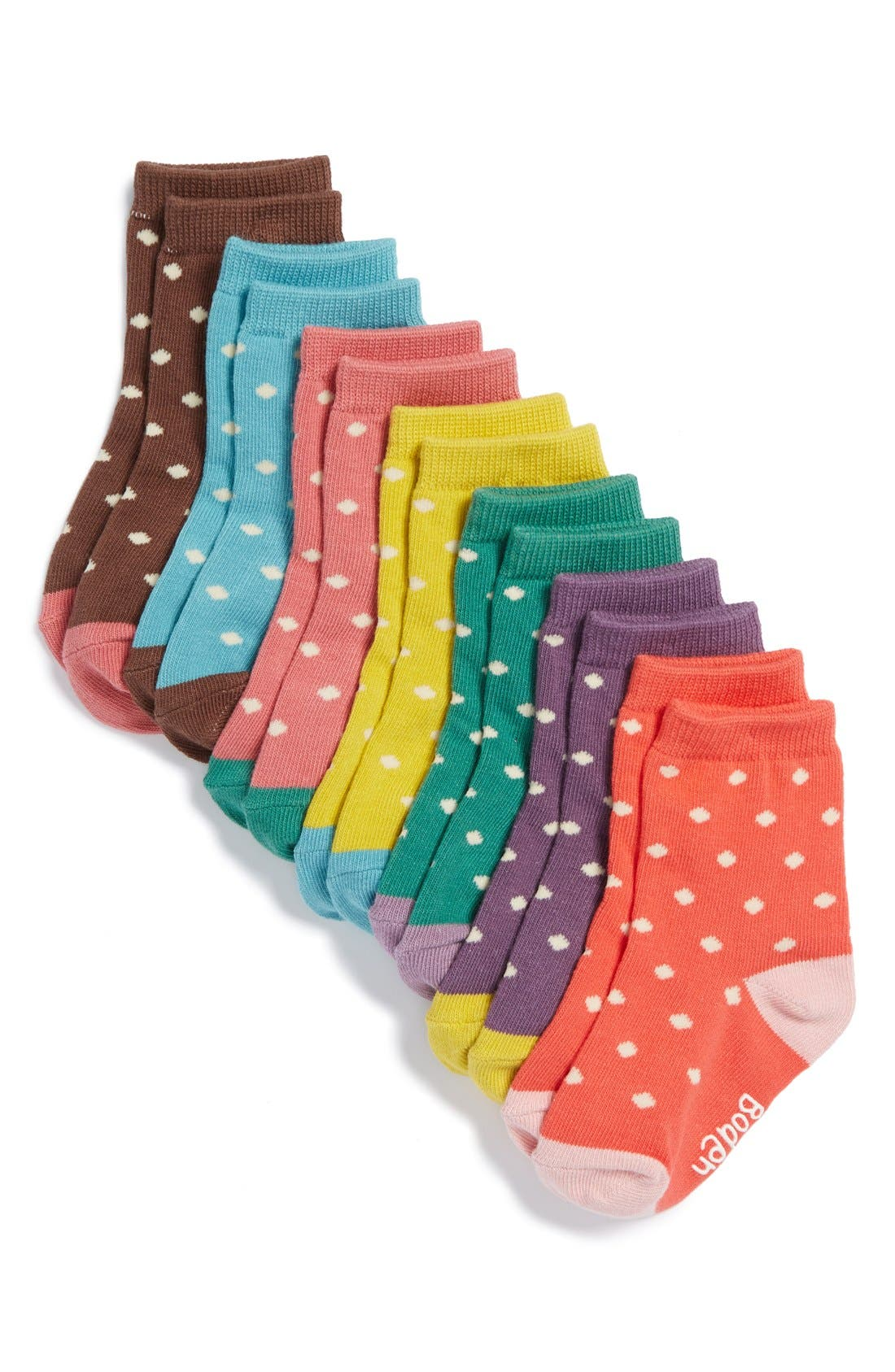 Stripe Socks, Main, color, 182