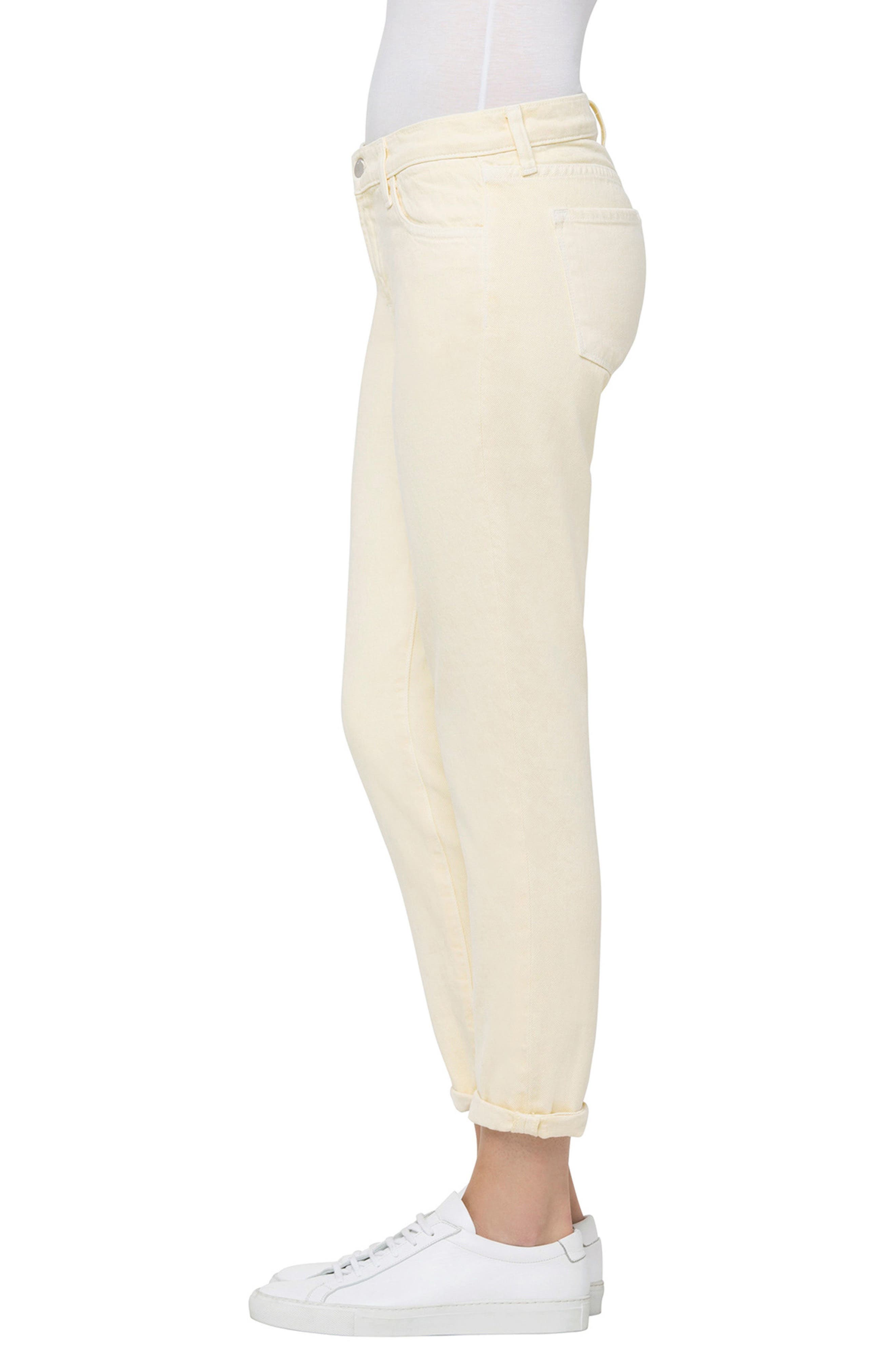 Sadey Ankle Slim Straight Leg Jeans,                             Alternate thumbnail 3, color,                             724