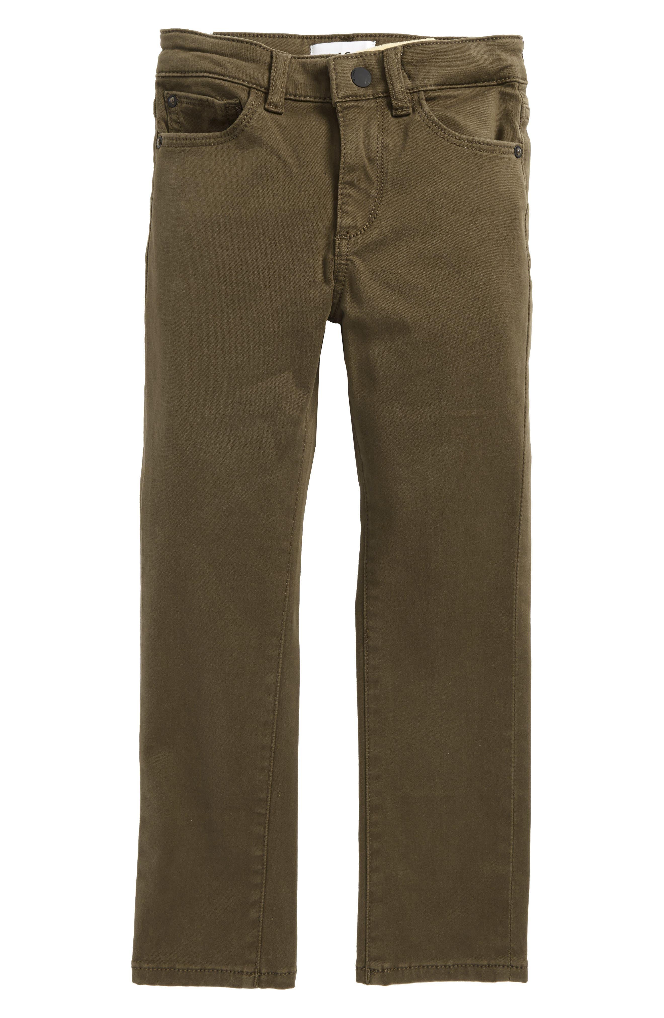 Brady Slim Fit Twill Pants,                         Main,                         color, 300