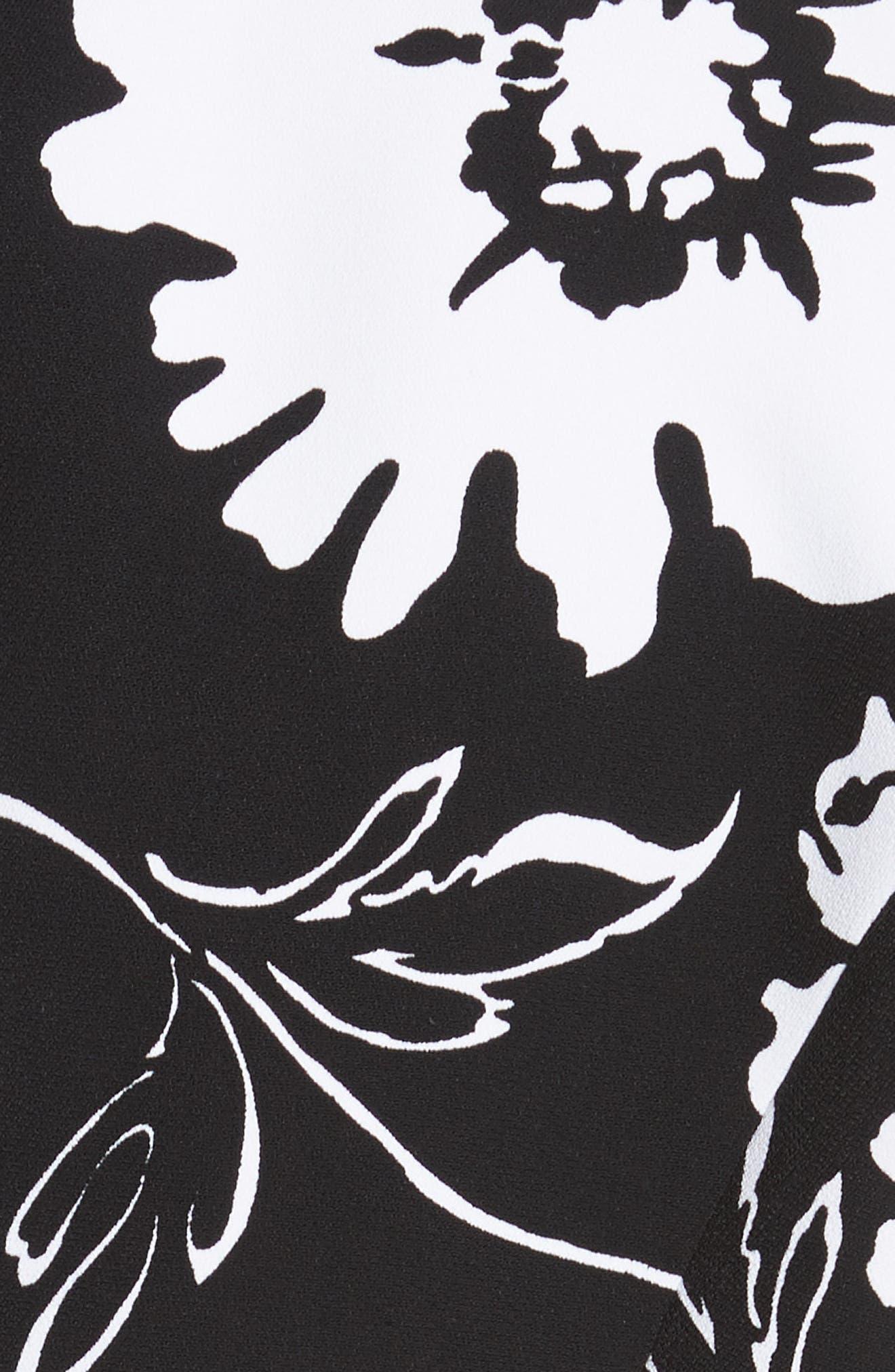 Floral Print Blazer,                             Alternate thumbnail 6, color,