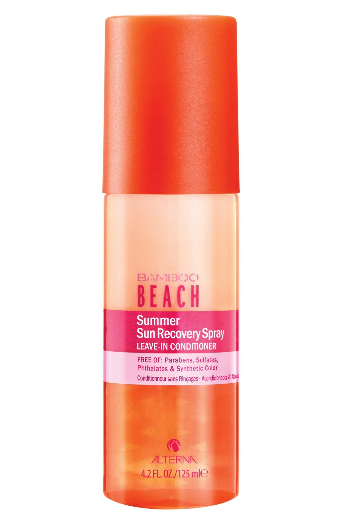 'Bamboo Beach - Summer Sun' Recovery Spray Leave-In Conditioner,                             Main thumbnail 1, color,                             000